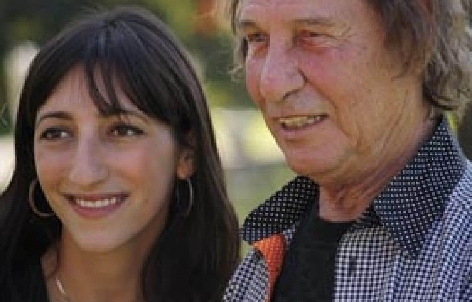 Florence K chante La Musique avec Jean-Pierre Ferland sur le CD Bijoux de famille – Duos Ferland.