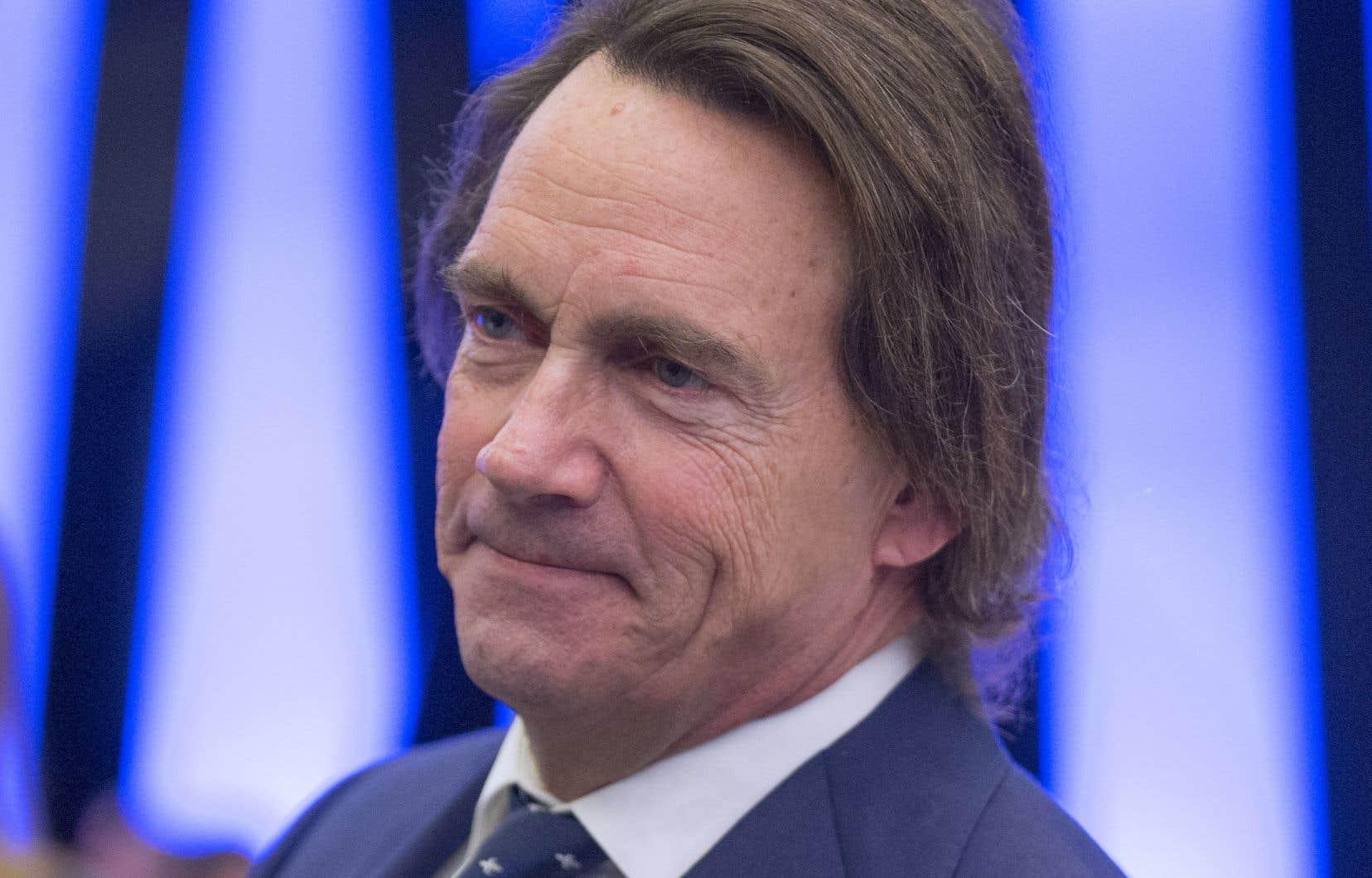 Le président de Québecor parle d'une «initiative personnelle».