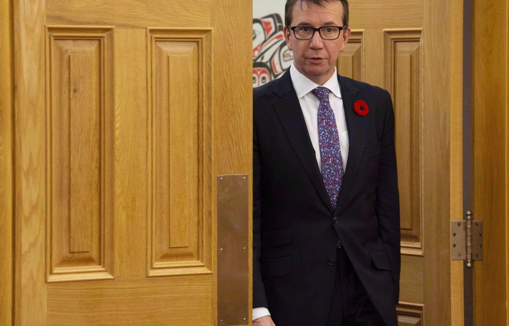 M.Brison a démissionné du cabinet du premier ministre Justin Trudeau au début de janvier après avoir décidé qu'il ne briguerait pas de nouveau mandat comme député l'automne prochain.