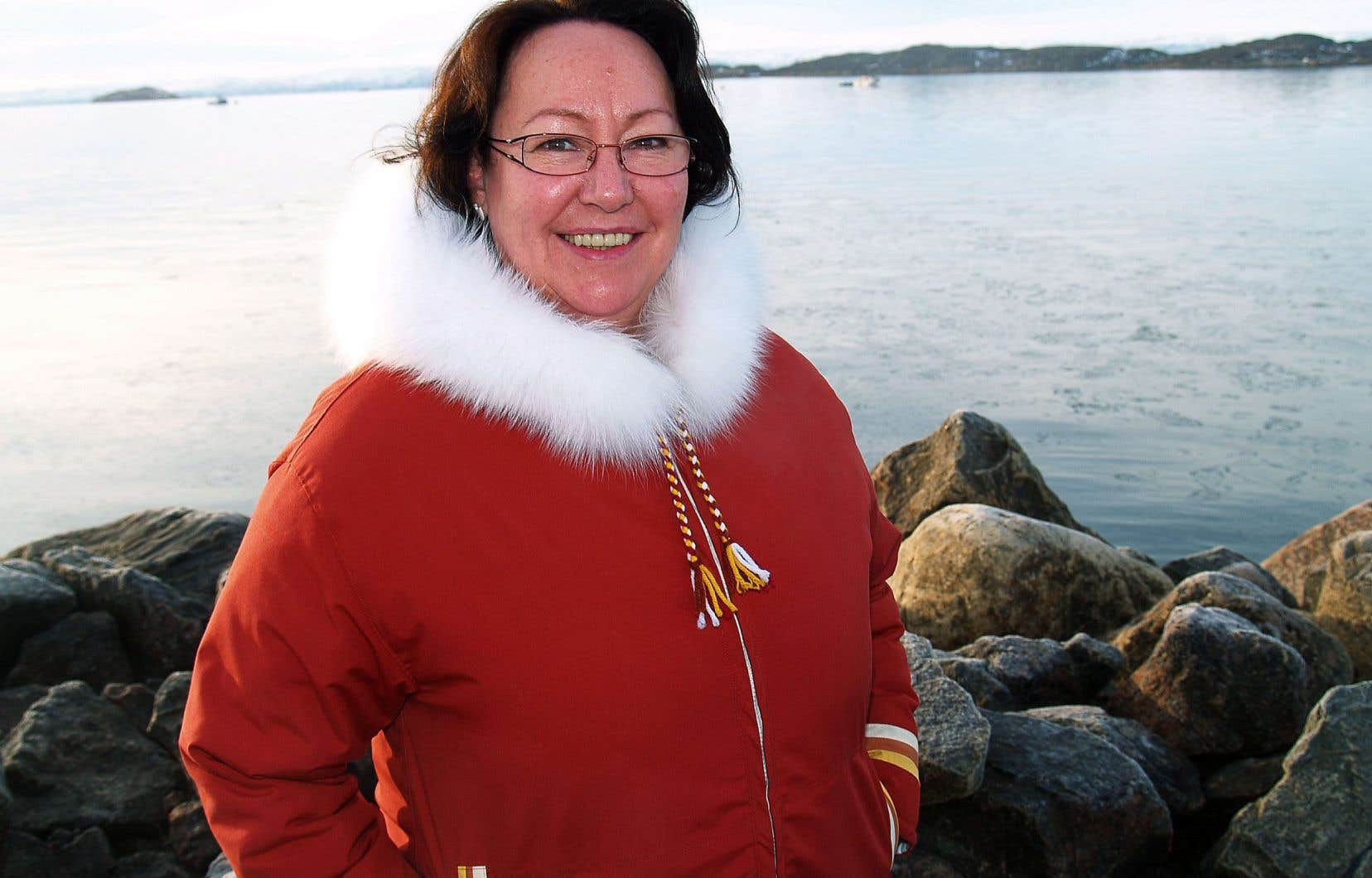 Sheila Watt-Cloutier a dû se réapproprier sa langue ancestrale, l'inuktitut.