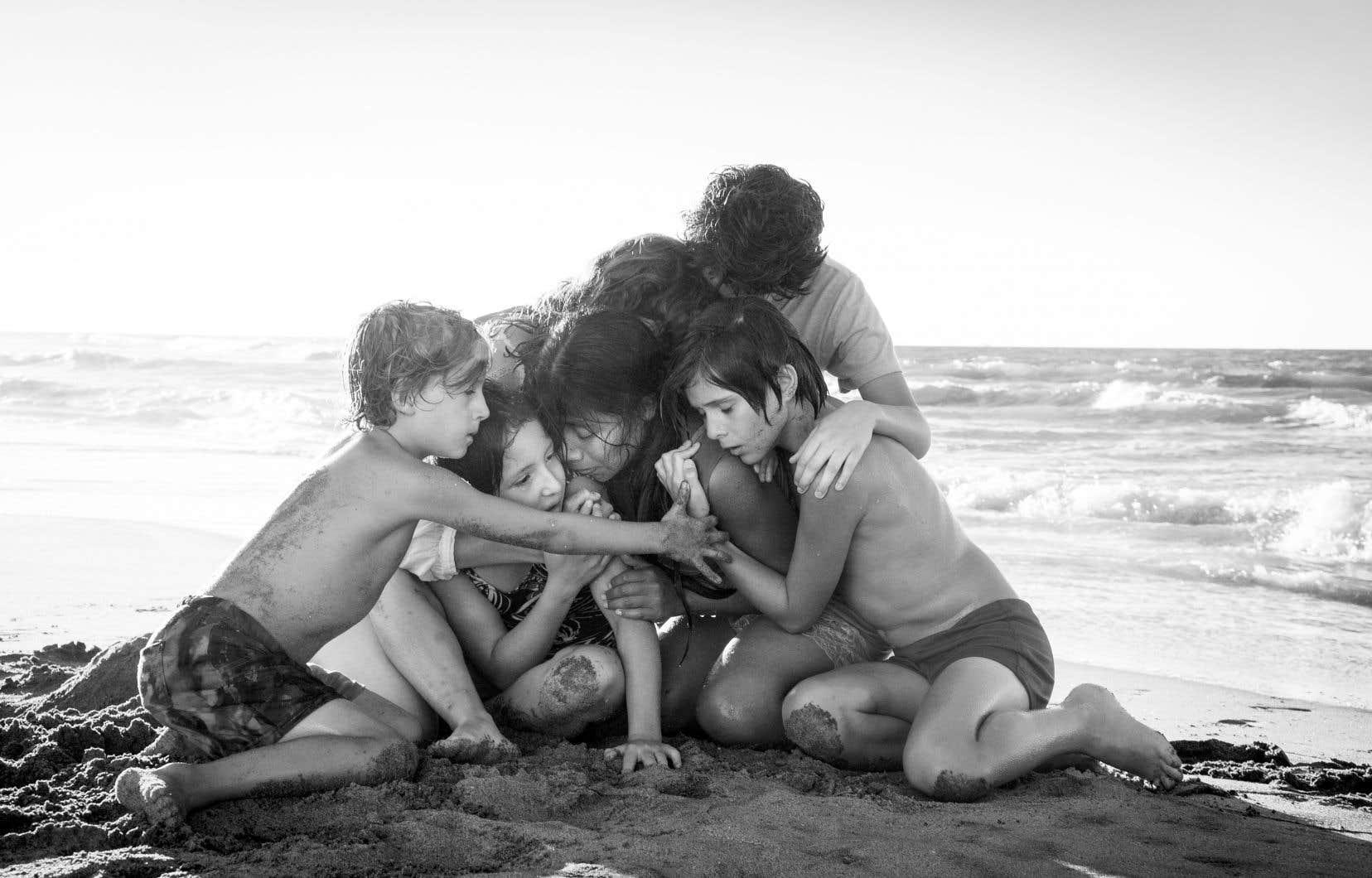 Tourné en espagnol, «Roma» dépeint l'enfance du réalisateur Alfonso Cuarón dans un quartier de Mexico.