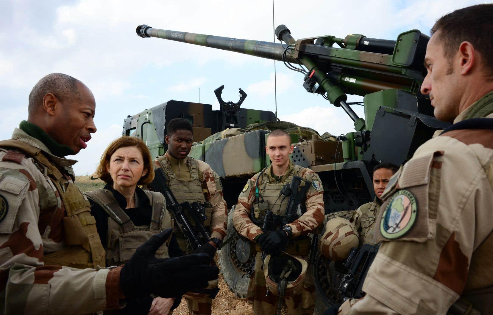 «La fin est proche», a lancé la ministre française des Armées, Florence Parly, en déplacement auprès des troupes françaises en Irak stationnées à la frontière avec la Syrie.