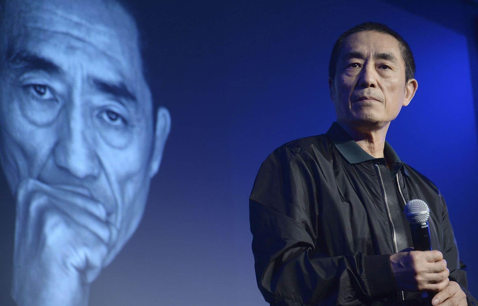Le réalisateur chinois Zhang Yimou, de passage à Los Angeles en 2015