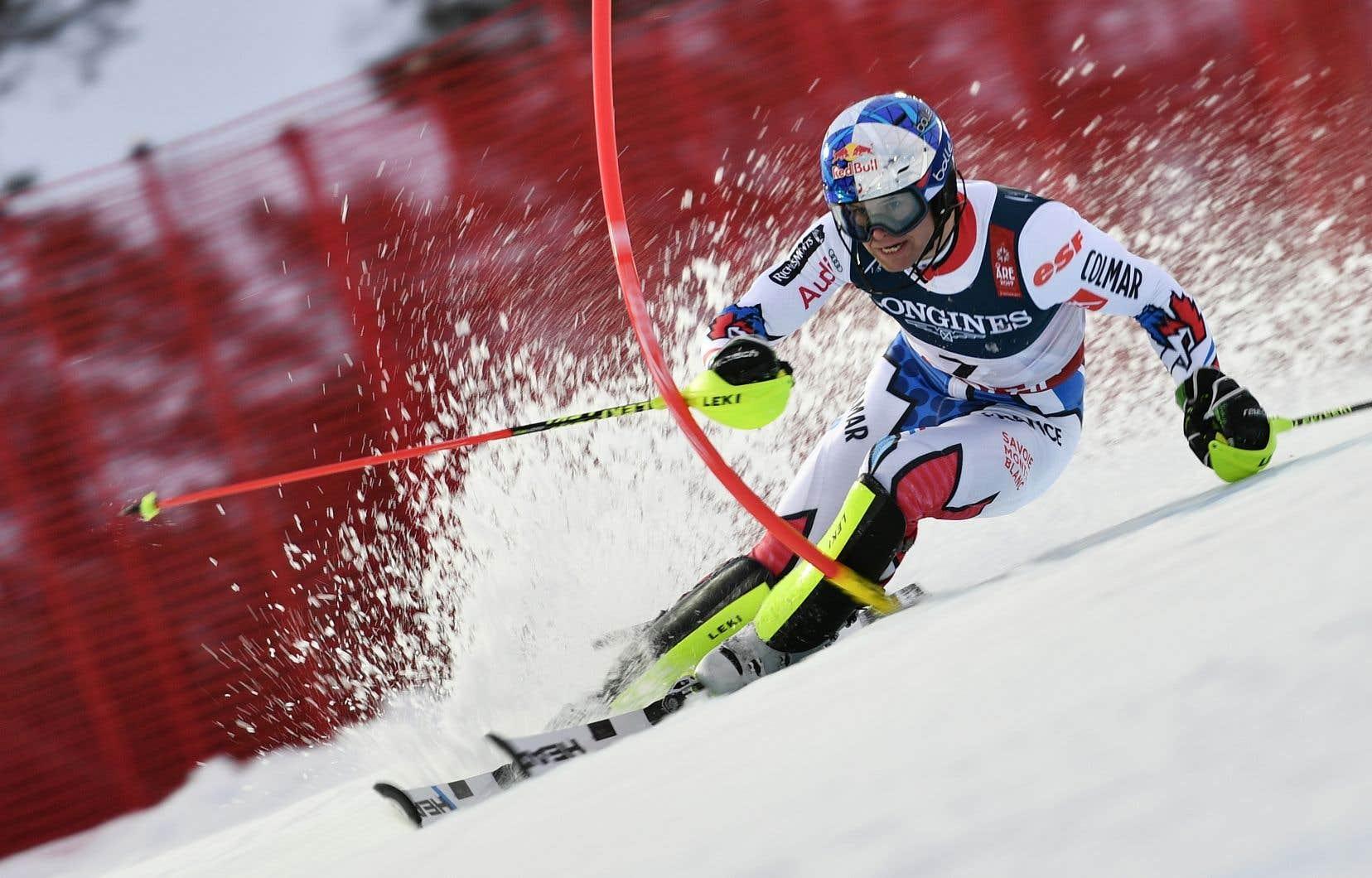 De ses trois podiums olympiques, Pinturault compte une médaille d'argent au combiné lors des Jeux de Pyeongchang l'année dernière.
