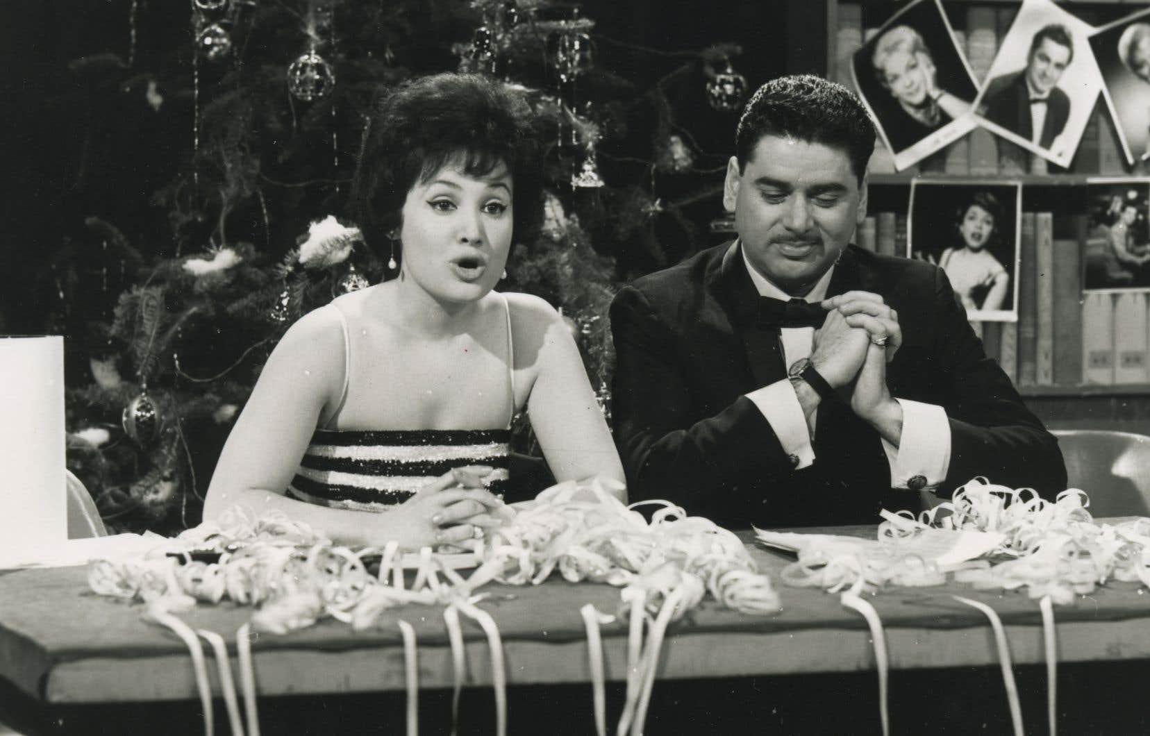 L'animateur Réal Giguère a piloté plusieurs émissions à succès, dont «Dix sur dix» en compagnie d'Anita Barrière.