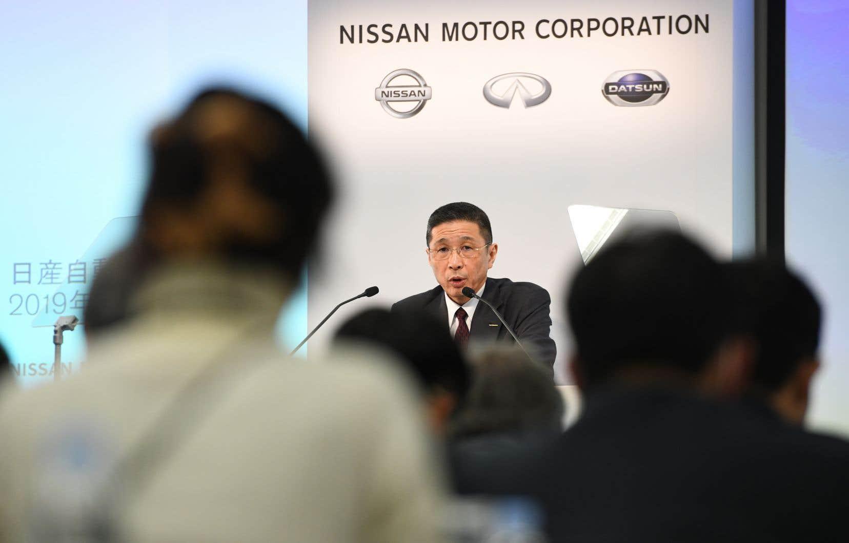 Entre avril et décembre 2018, le constructeur d'automobiles japonais a affiché un résultat net en recul de 45%.