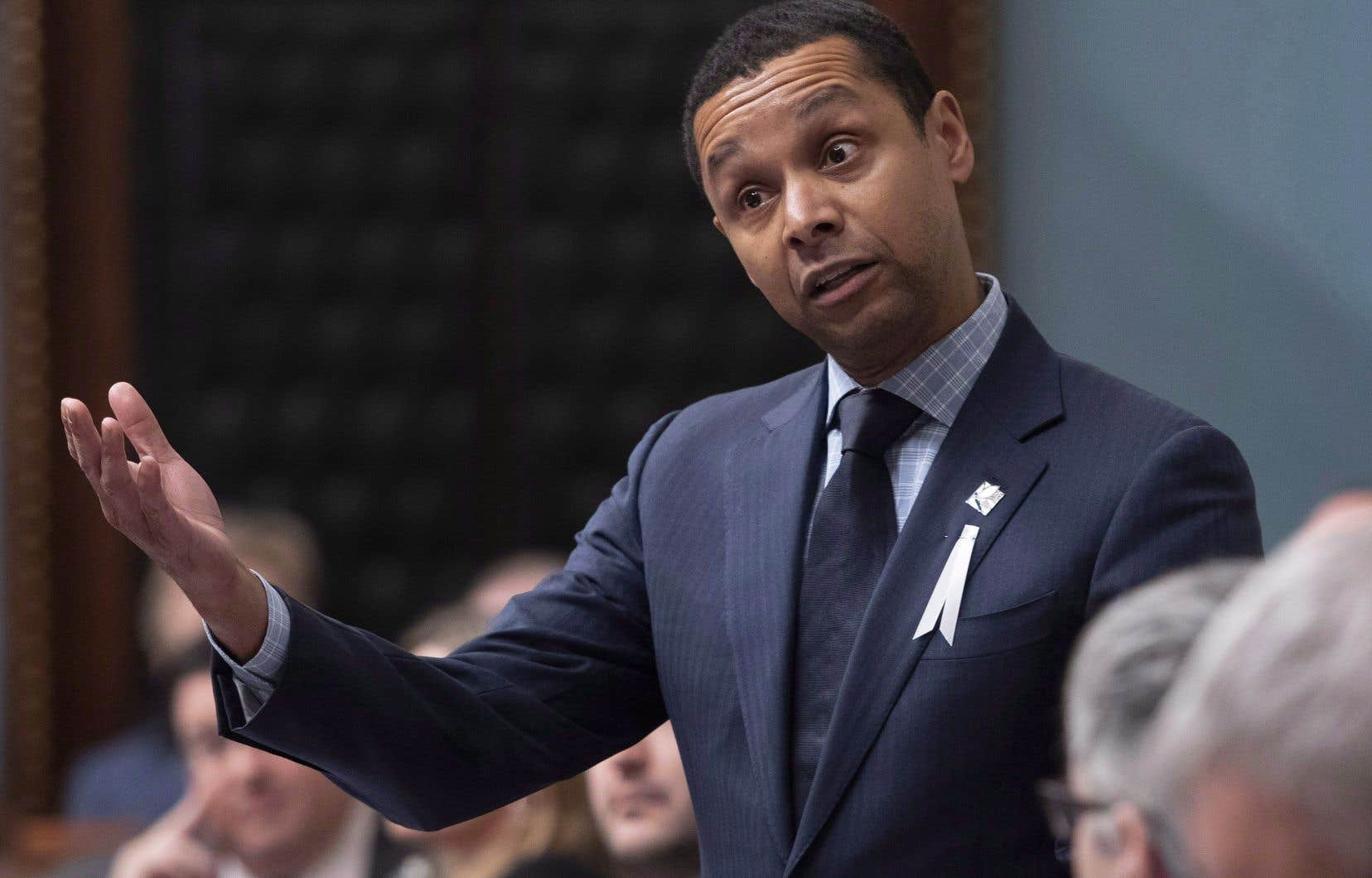 Le ministre délégué à la Santé, Lionel Carmant