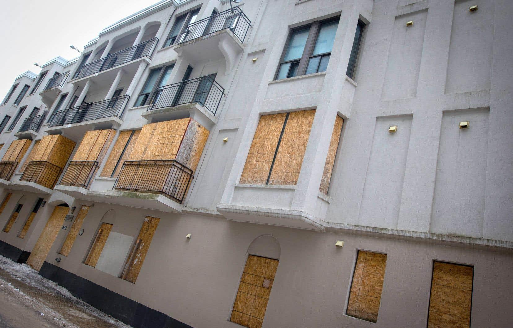 Le bâtiment que la SHDM souhaite démolir est situé dans une discrète rue du Quartier latin, au 330, rue Christin.