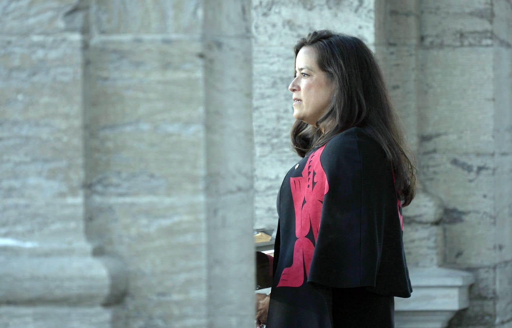 Jody Wilson-Raybould a annoncé mardi qu'elle démissionnait du cabinet de Justin Trudeau. Elle demeure députée libérale.