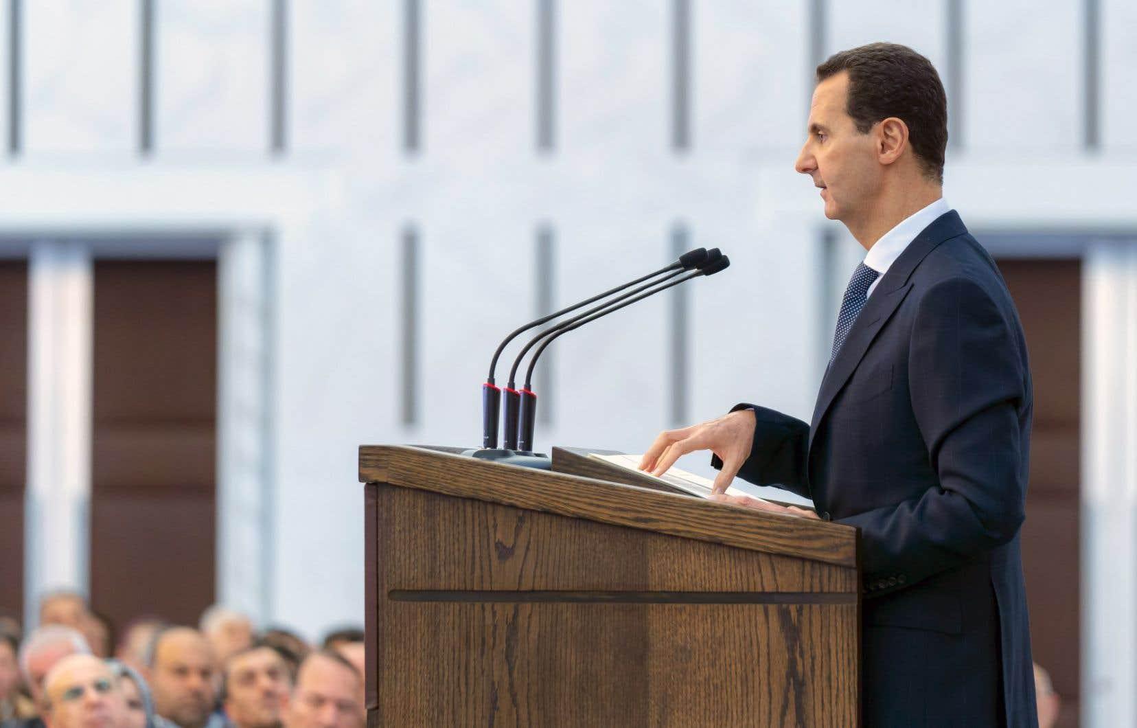 «Chaque pouce de la Syrie sera libéré et tout intrus sera un ennemi», a affirmé Bachar Al-Assad.