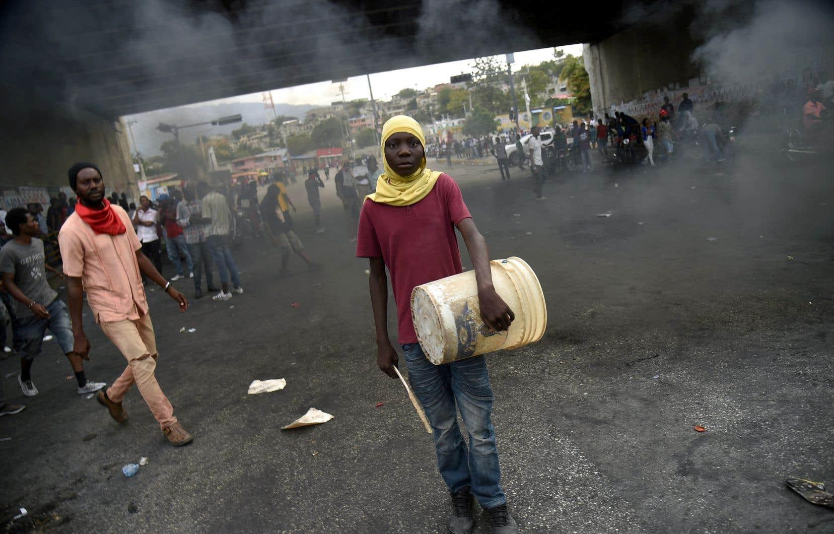 Depuis le 7février, les manifestations se sont multipliées à travers les principales villes du pays, surtout à Port-au-Prince.