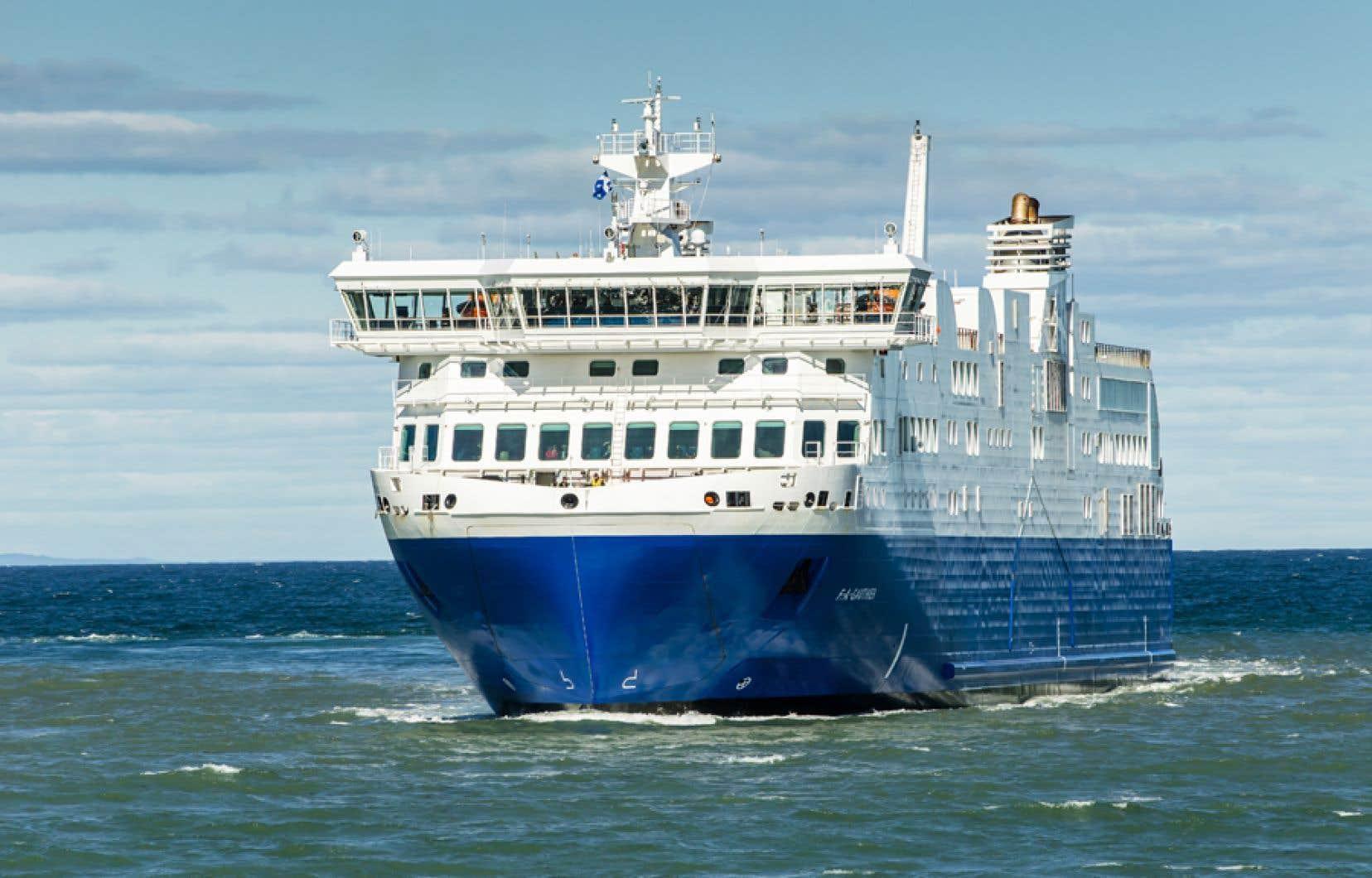 La Matane–Baie-Comeau–Godboutdevait normalement être desservie par le<em>NM F.A.-Gauthier</em>, traversier qui cumule les problèmes et les bris depuis son acquisition par la STQ.