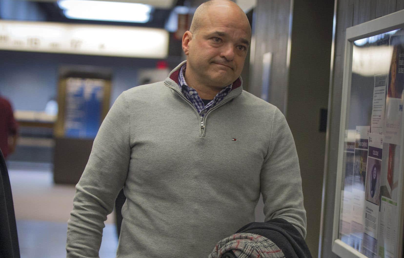 L'ancien vice-président aux finances de SNC-Lavalin Stéphane Roy