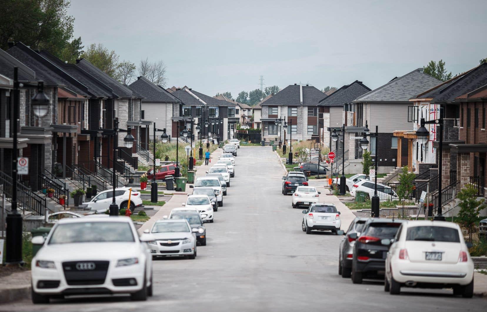 Ce sont surtout les banlieues adjacentes qui ont profité de la migration des familles avec enfants.