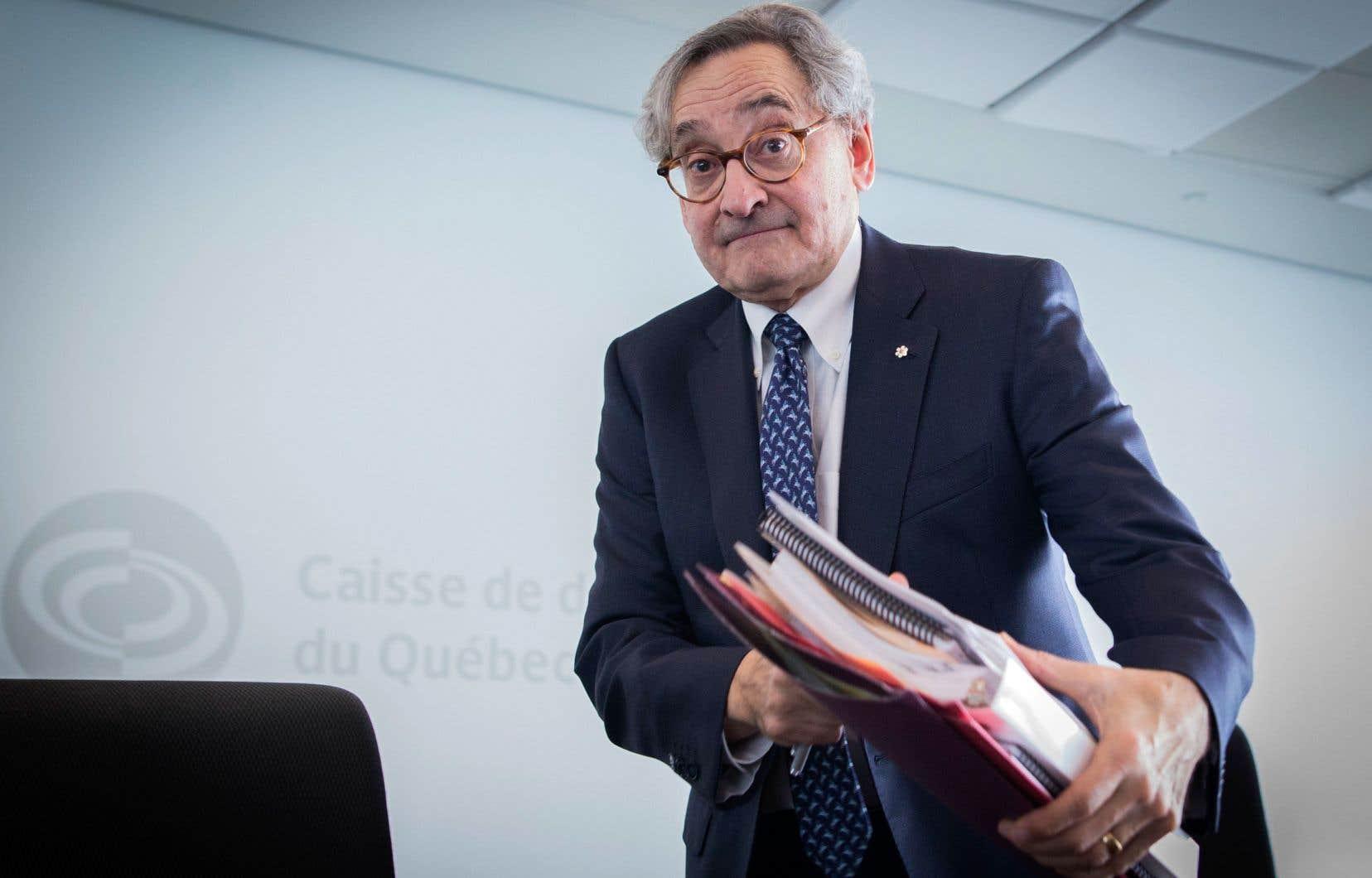 Le potentiel de SNC-Lavalin est «impressionnant», soutient le patron de la Caisse de dépôt, Michael Sabia.