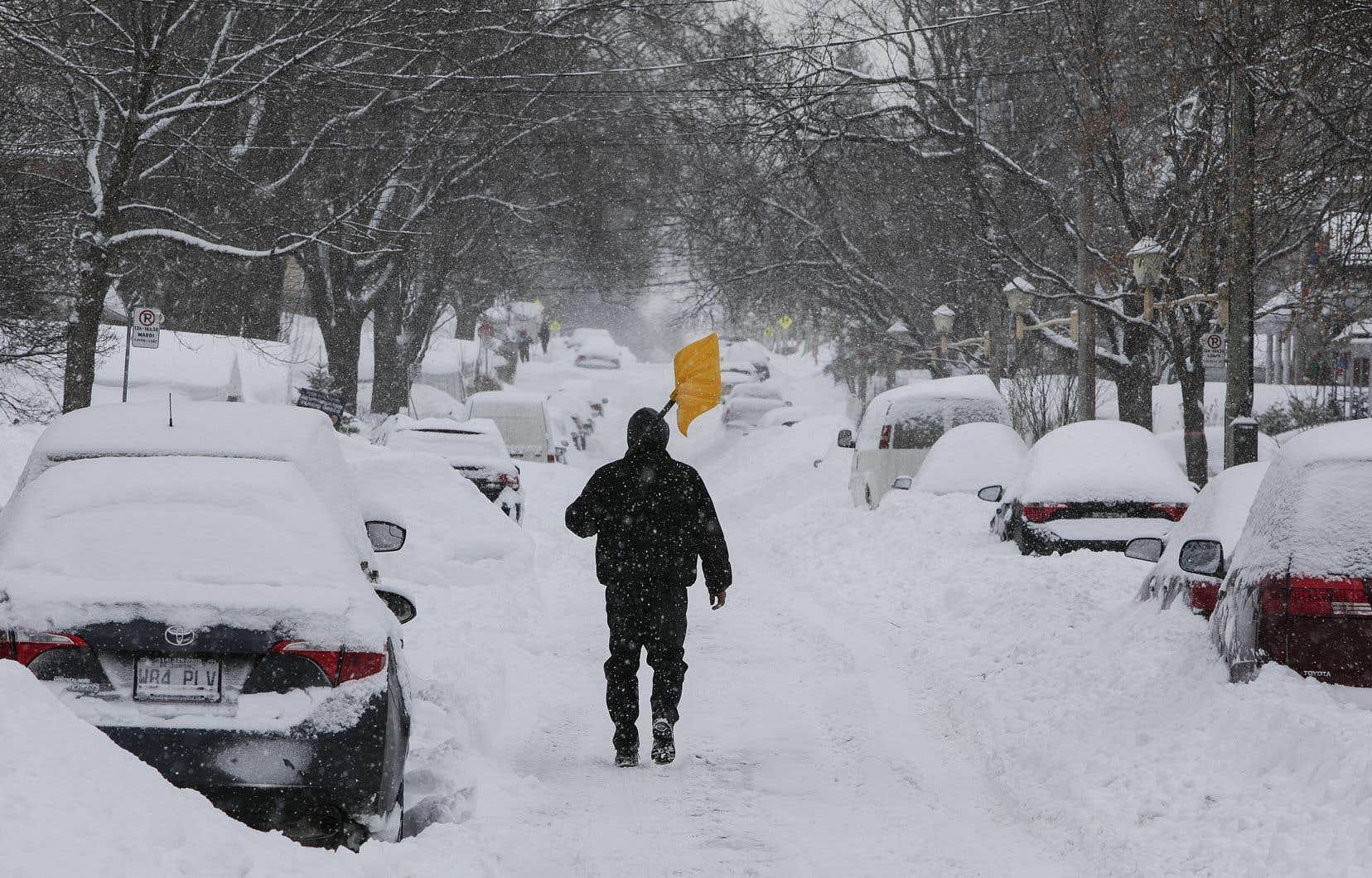 Depuis le début du mois de janvier, Montréal a reçu 191 cm de neige, ainsi que 163 mm de pluie.