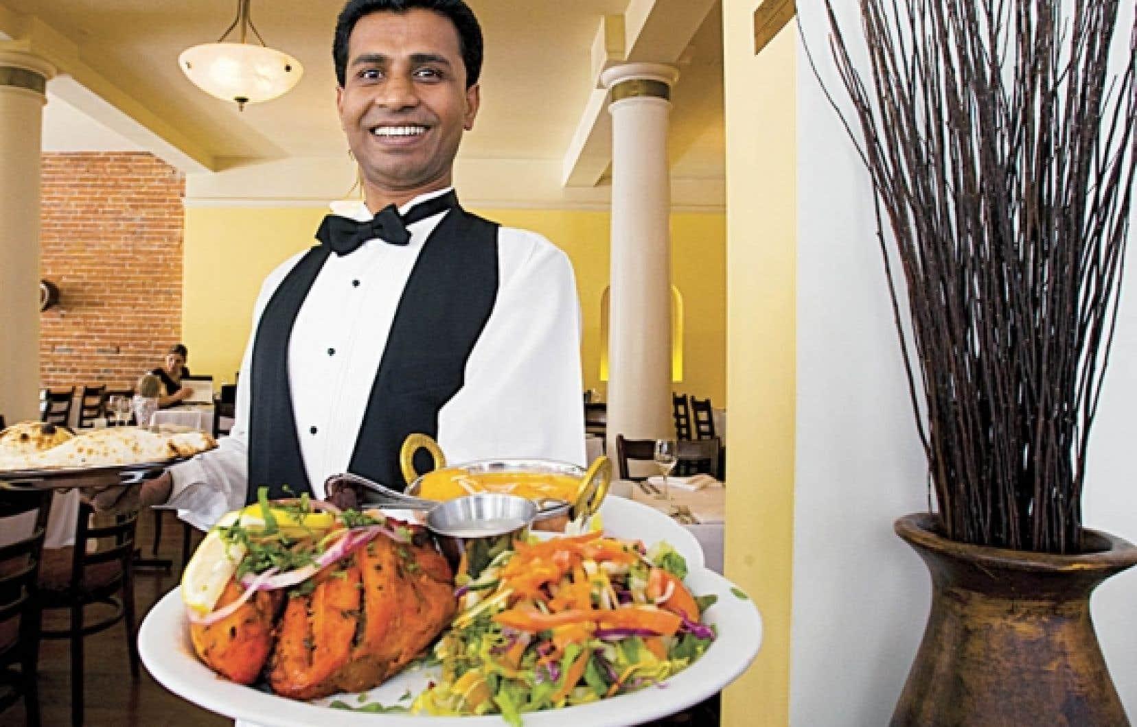 Gandhi est certainement un des meilleurs restaurants de cuisine indienne au Canada, installé depuis dix ans dans le Vieux-Montréal.<br />