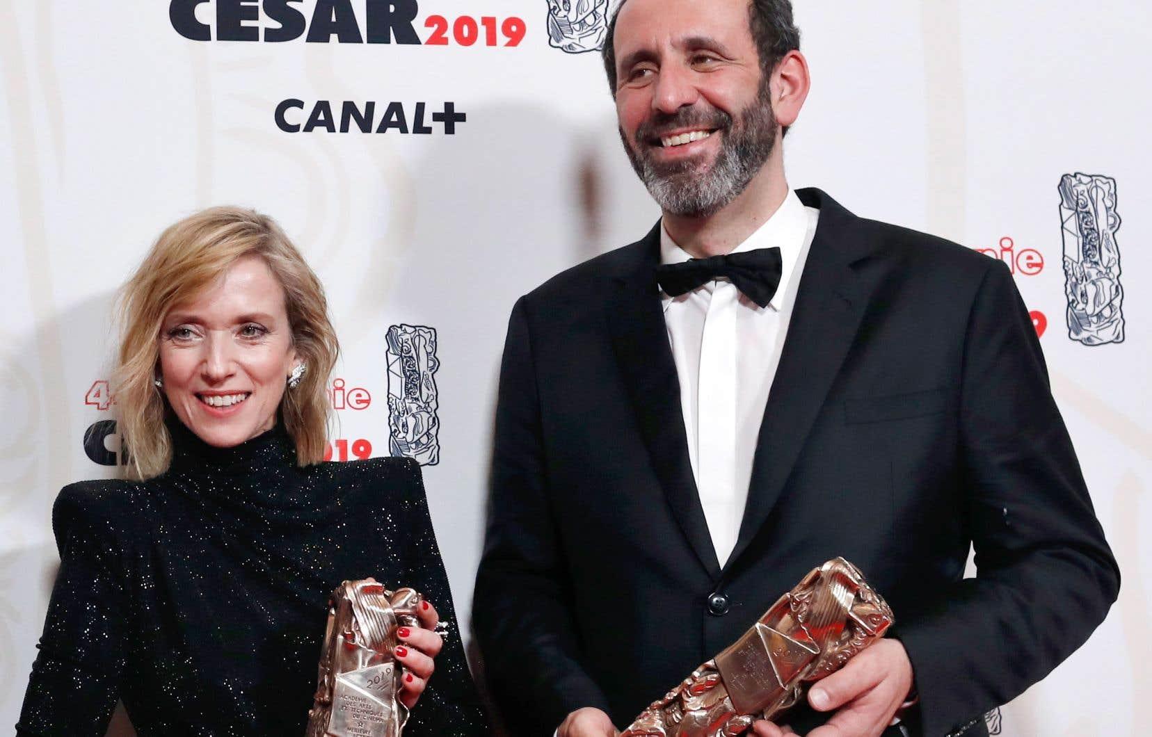 Sacré meilleur film, «Jusqu'à la garde», le long métrage choc de Xavier Legrand sur les violences conjugales, a remporté quatre trophées, dont celui de la meilleure actrice pour Léa Drucker.