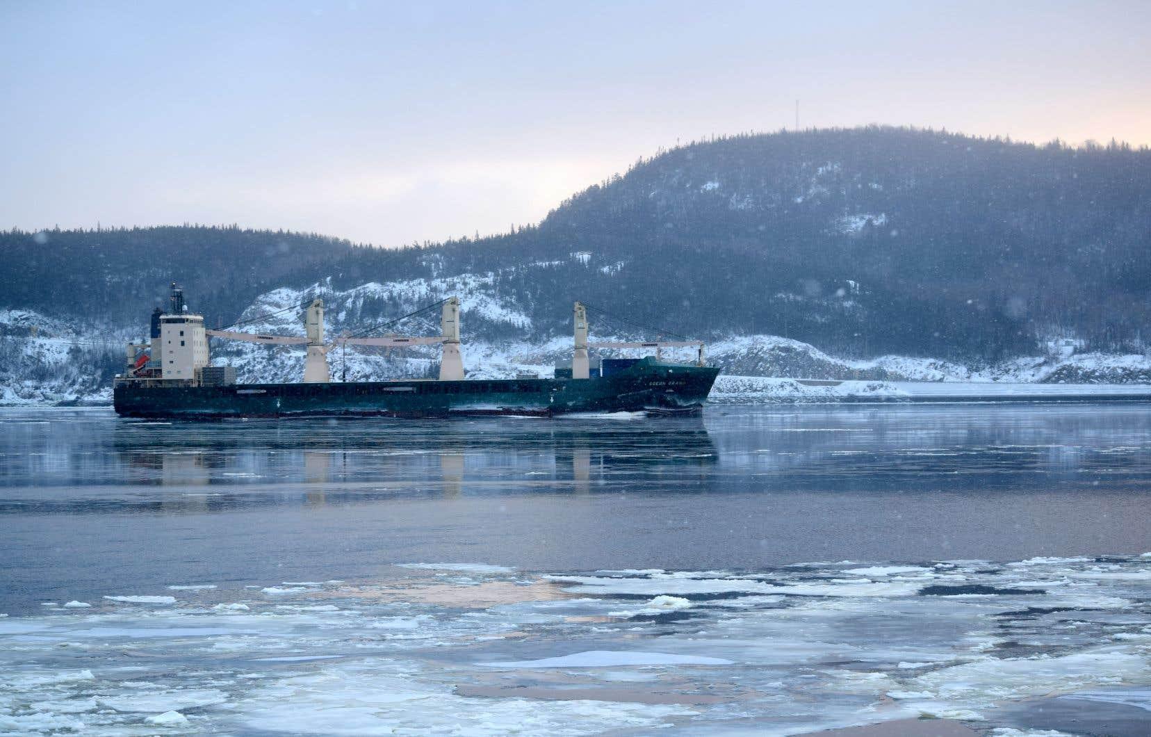 Selon un article du «Devoir» publié la semaine dernière, le projet Énergie Saguenay contribuera à une forte augmentation du trafic sur le Saguenay.