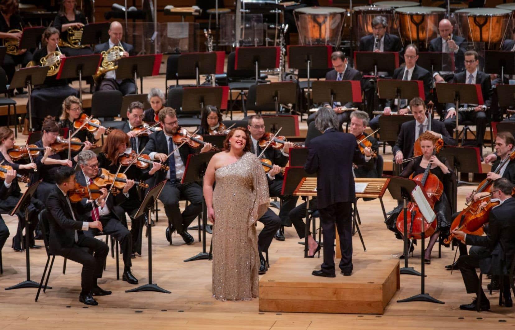 Un concert de l'OSM, dirigé par Kent Nagano, avec la contralto Marie-Nicole Lemieux