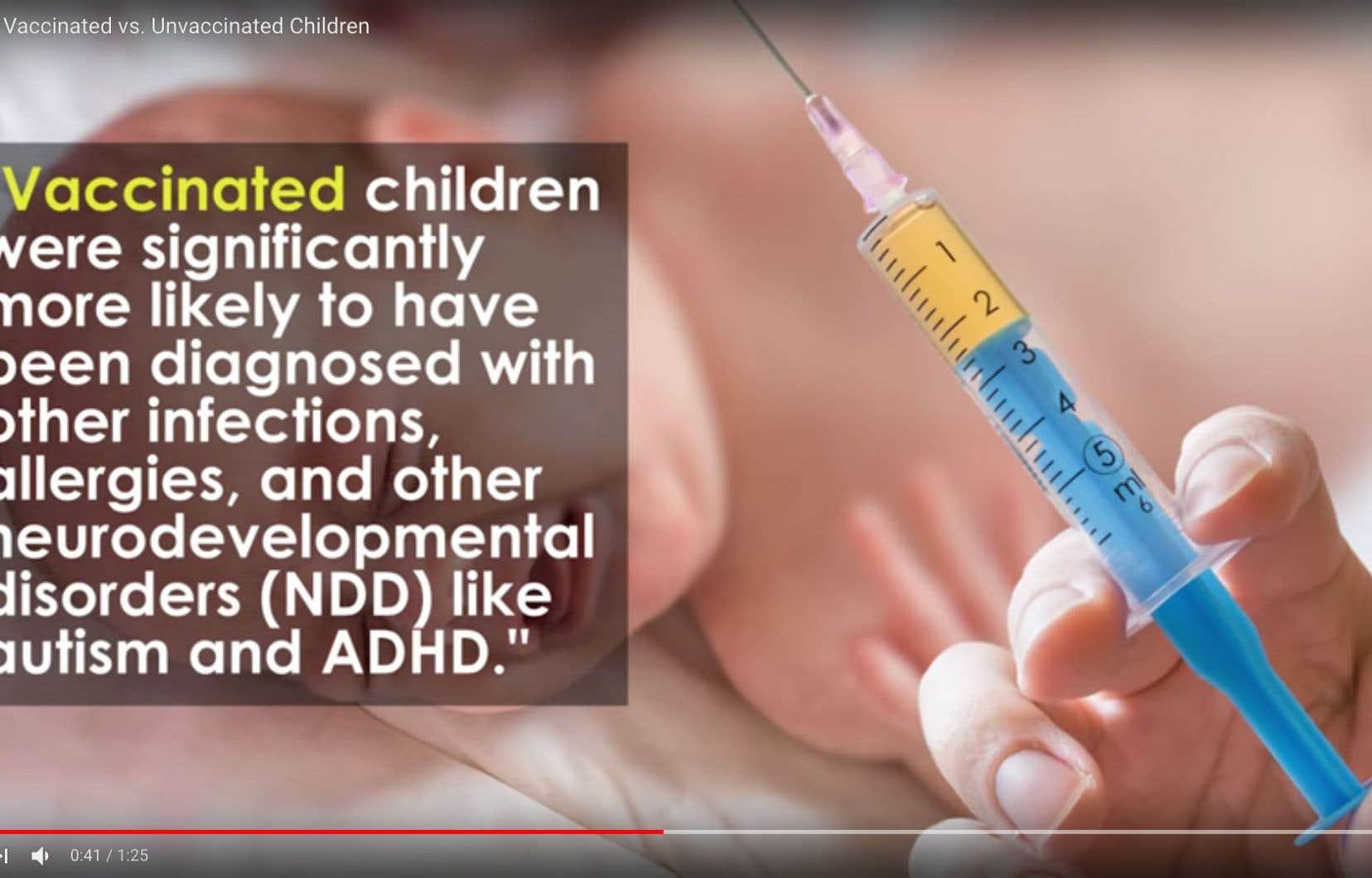 YouTube s'est engagé à ne plus verser de redevances liées à la publicité aux promoteurs des campagnes antivaccination.