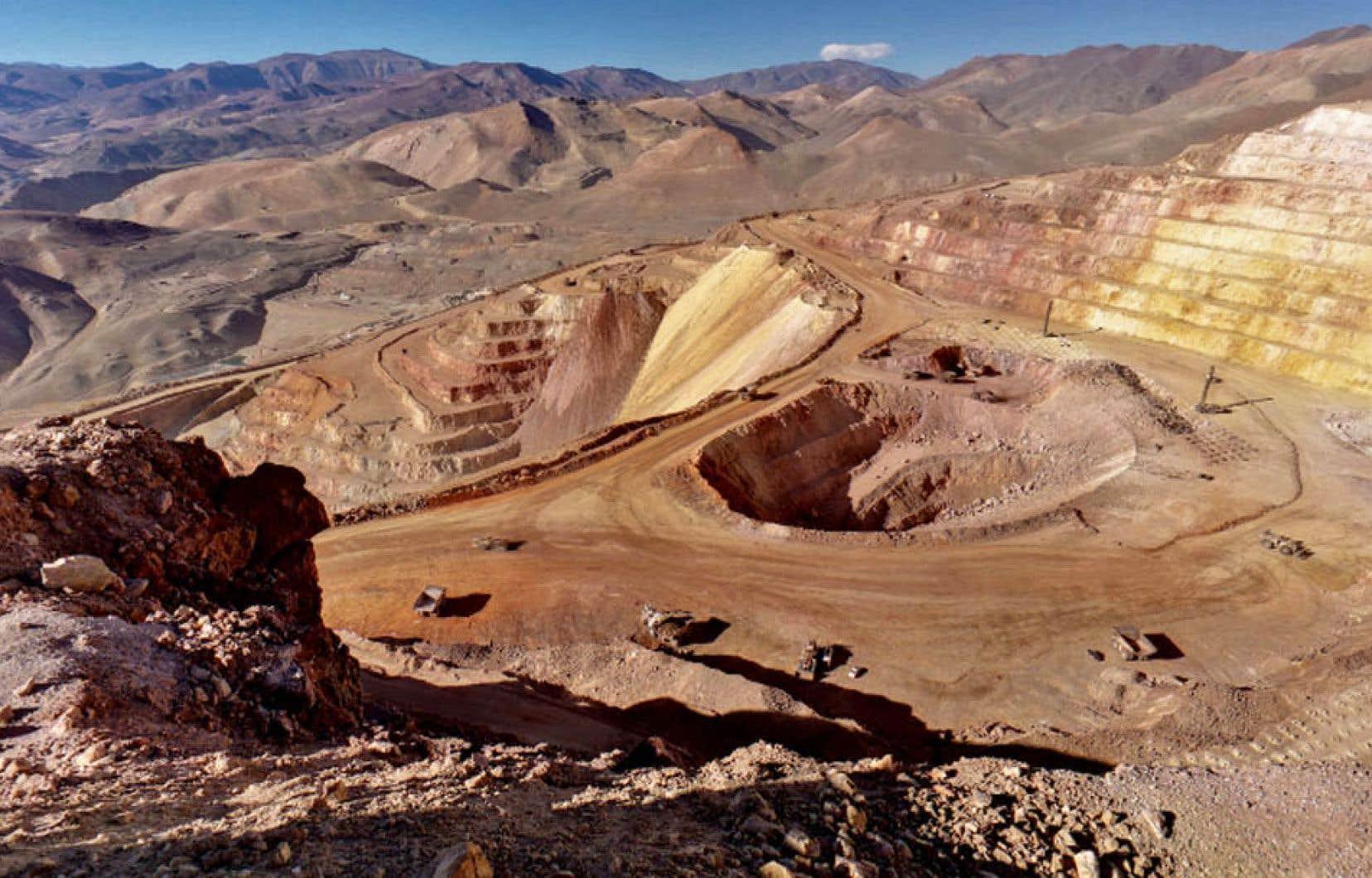 Une mine de Barrick Gold en Argentine