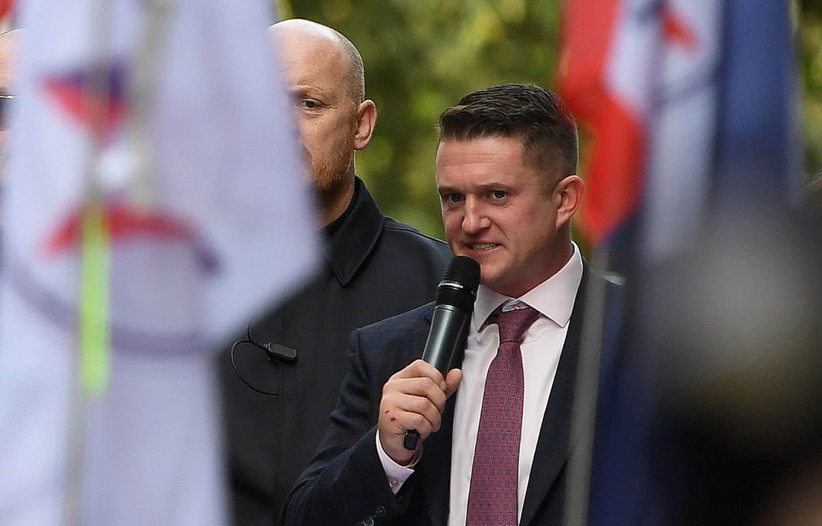 Stephen Yaxley-Lennon, alias Tommy Robinson, est le fondateur de l'«English Defence League», un groupe marginal affirmant lutter contre la menace islamiste.