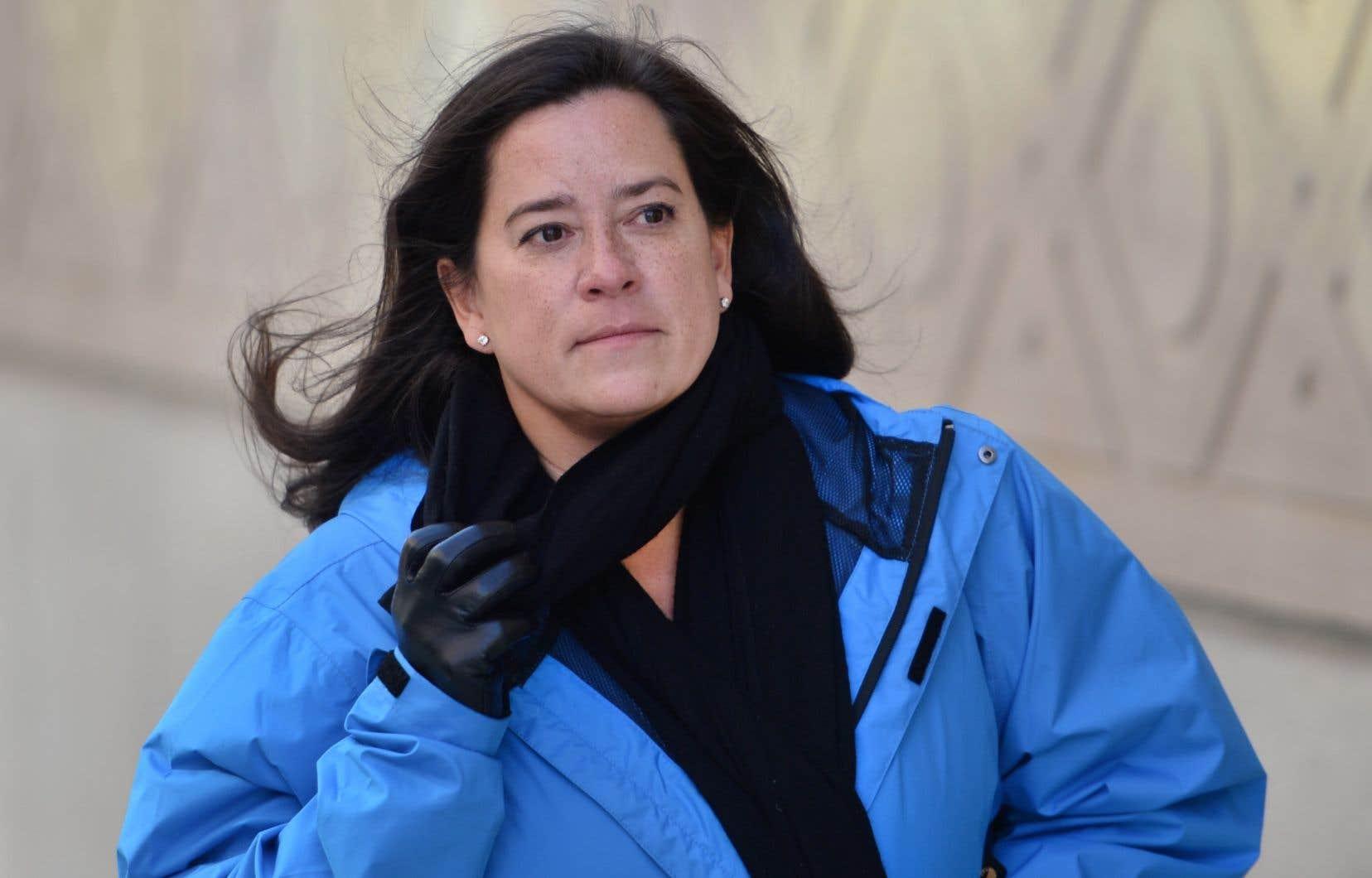 L'ancienne ministre de la Justice, Jody Wilson-Raybould, mardi à Ottawa