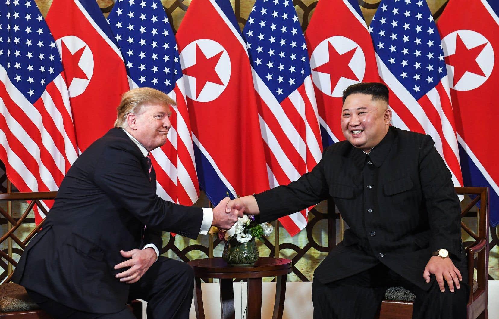 Les deux dirigeants se retrouveront en tête-à-tête jeudi, deuxième et dernier jour de ce sommet dans la capitale vietnamienne.