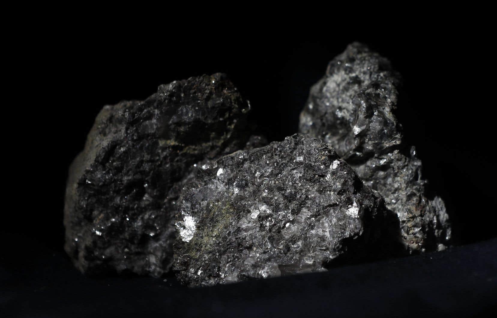 Un échantillon de lithium