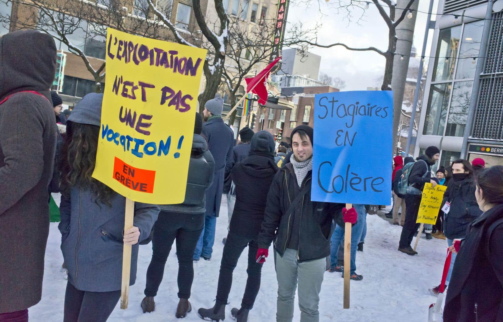 «La direction menace ainsi indûment les étudiants, les avisant qu'en cas de grève, leur session pourrait ne pas être validée», explique l'étudiant en maîtrise.