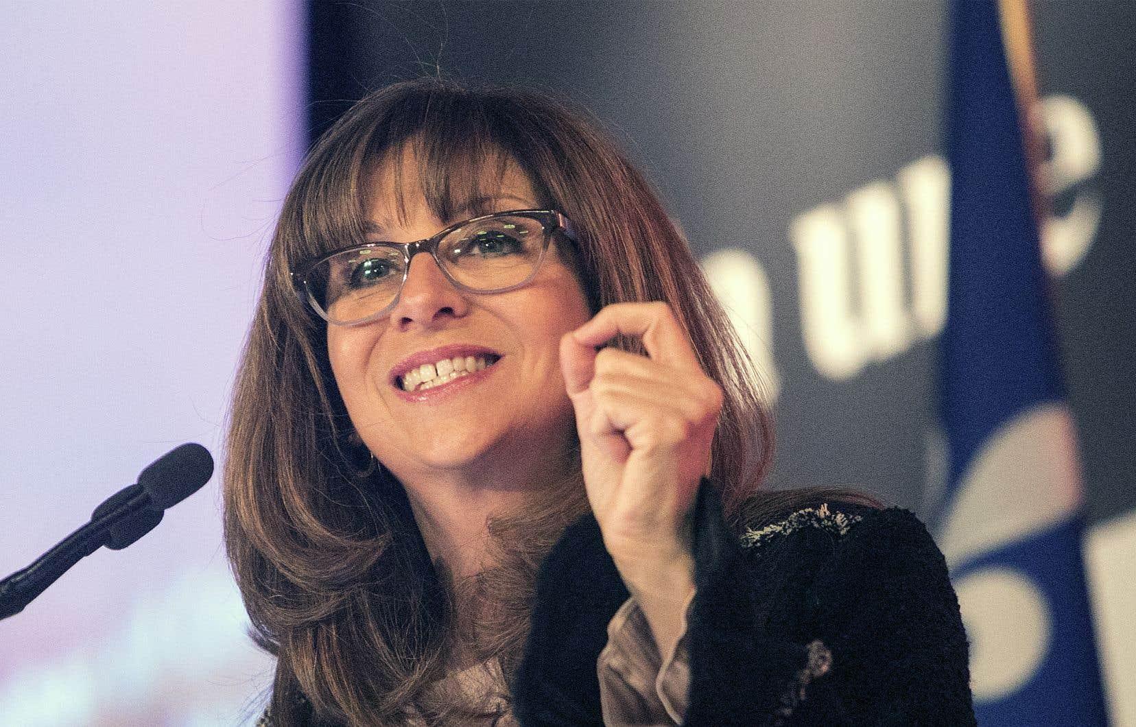 Nathalie Roy a décrit comme «quelque chose d'intéressant» la taxe française de 2% sur le chiffre d'affaires réalisé dans l'Hexagone par les plateformes numériques, dont les revenus sont remis à l'industrie cinématographique française.