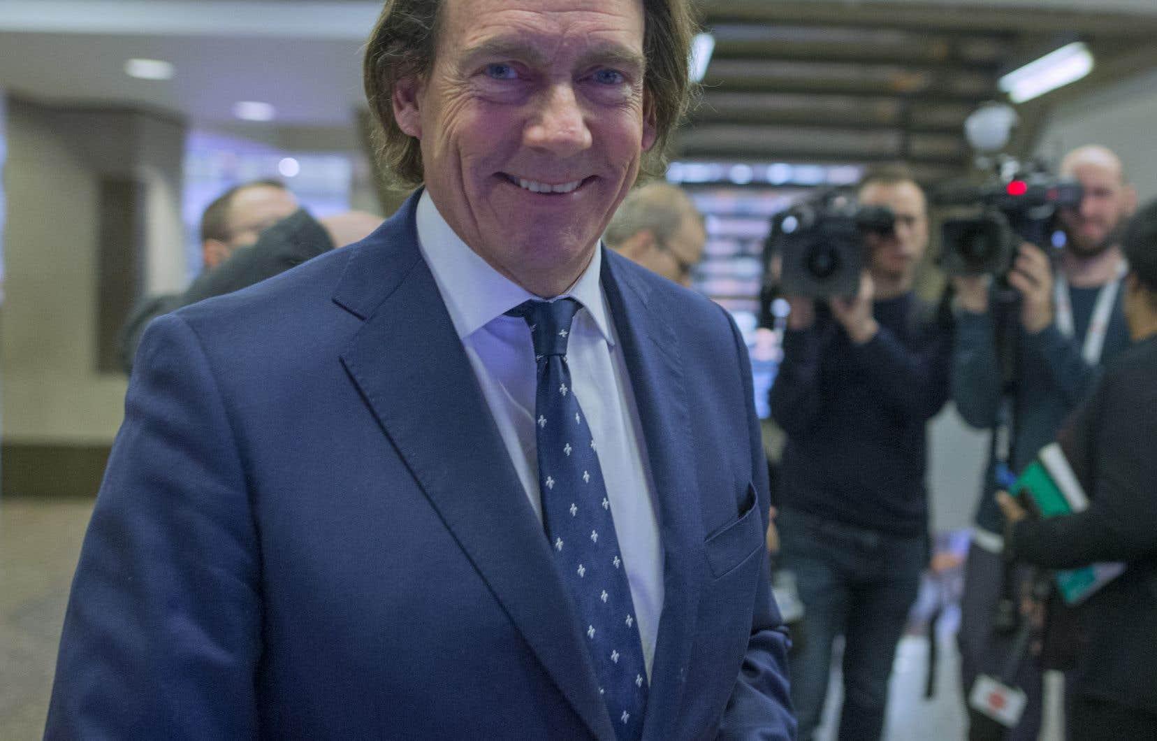 L'homme d'affaires Pierre Karl Péladeau se dit «bien avancé» dans sa volonté d'acquérir les actifs de Téo Taxi.