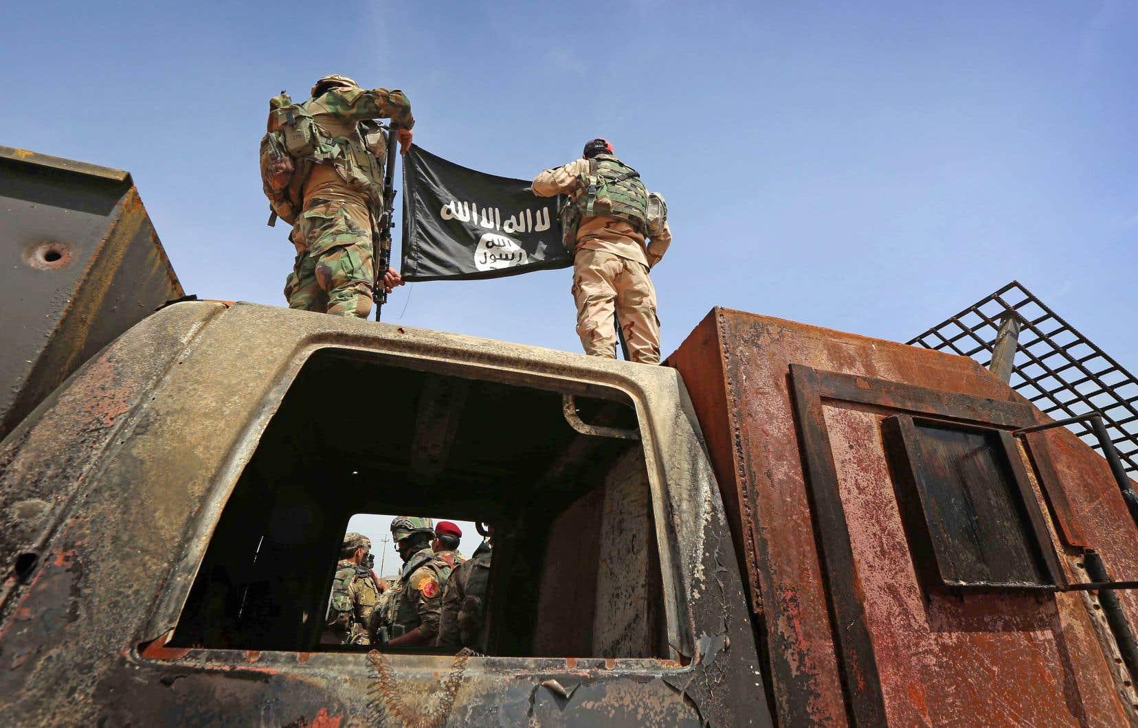 Le très peu qu'il reste du groupe État islamique vacille en Syrie et va assurément chuter.