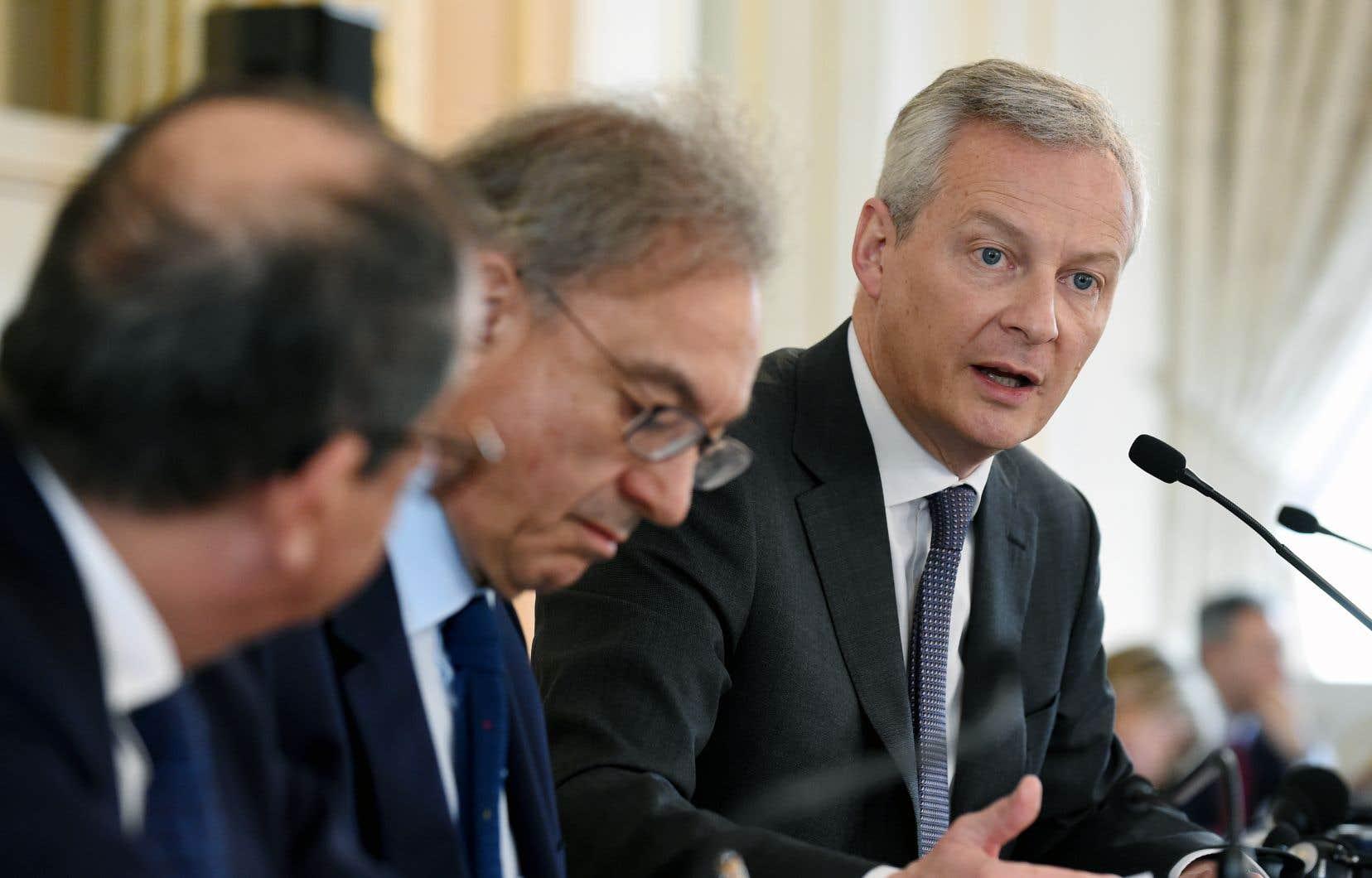 Le ministre français Bruno Le Maire