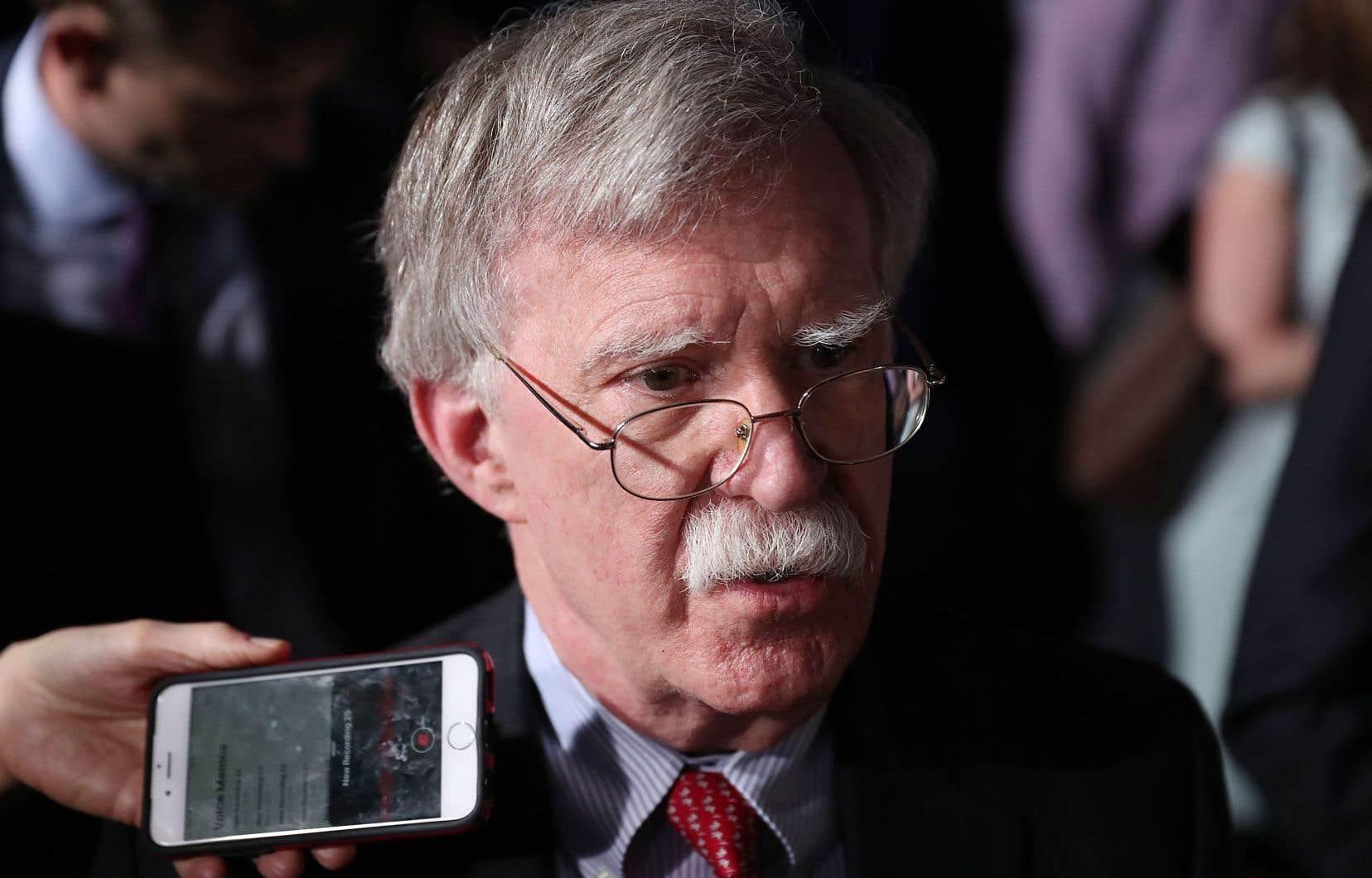 John Bolton a estimé que la proposition nord-coréenne de démanteler «de manière permanente et totale» le complexe nucléaire de Yongbyon était «une concession très limitée».