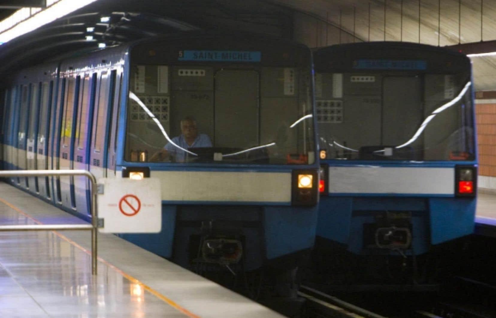 Selon l'évaluation comparative de 26 métros du monde réalisée par le Collège impérial de Londres, le métro de Montréal se classe au premier rang au chapitre de la productivité.