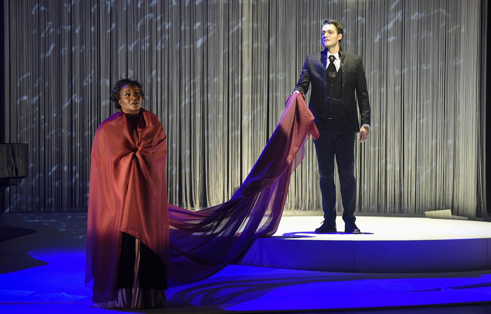 Marie-Josée Lord et Jean-Michel Richer dans «Le mystère Carmen»