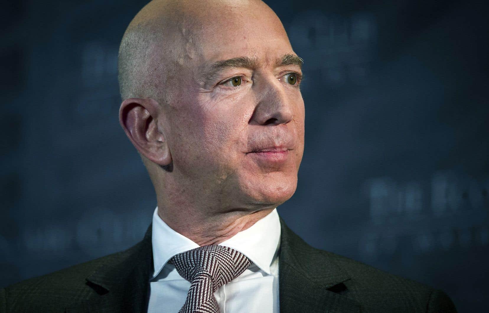 La fortune de Jeff Bezos, le patron d'Amazon, a encore augmenté de 19milliards de dollars depuis un an, pour atteindre 131milliards.
