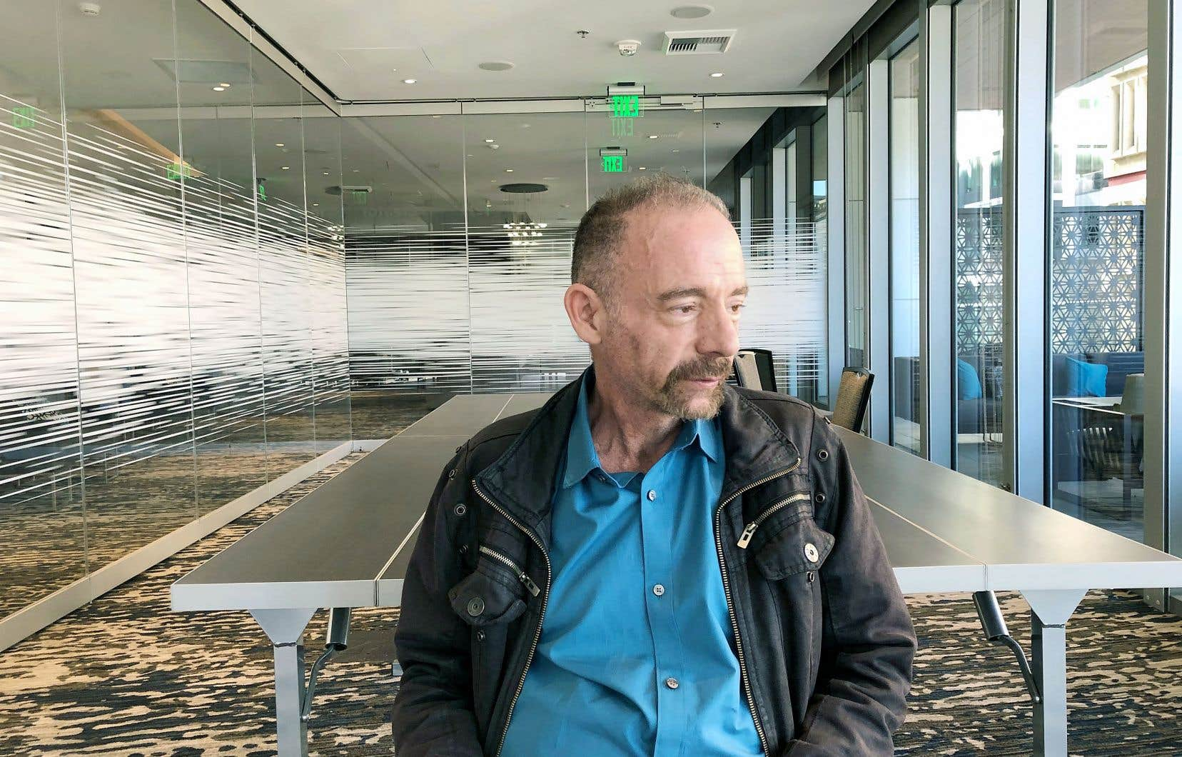 Timothy Ray Brown, photographié lundi à Seattle, a été déclaré guéri du VIH en 2007.