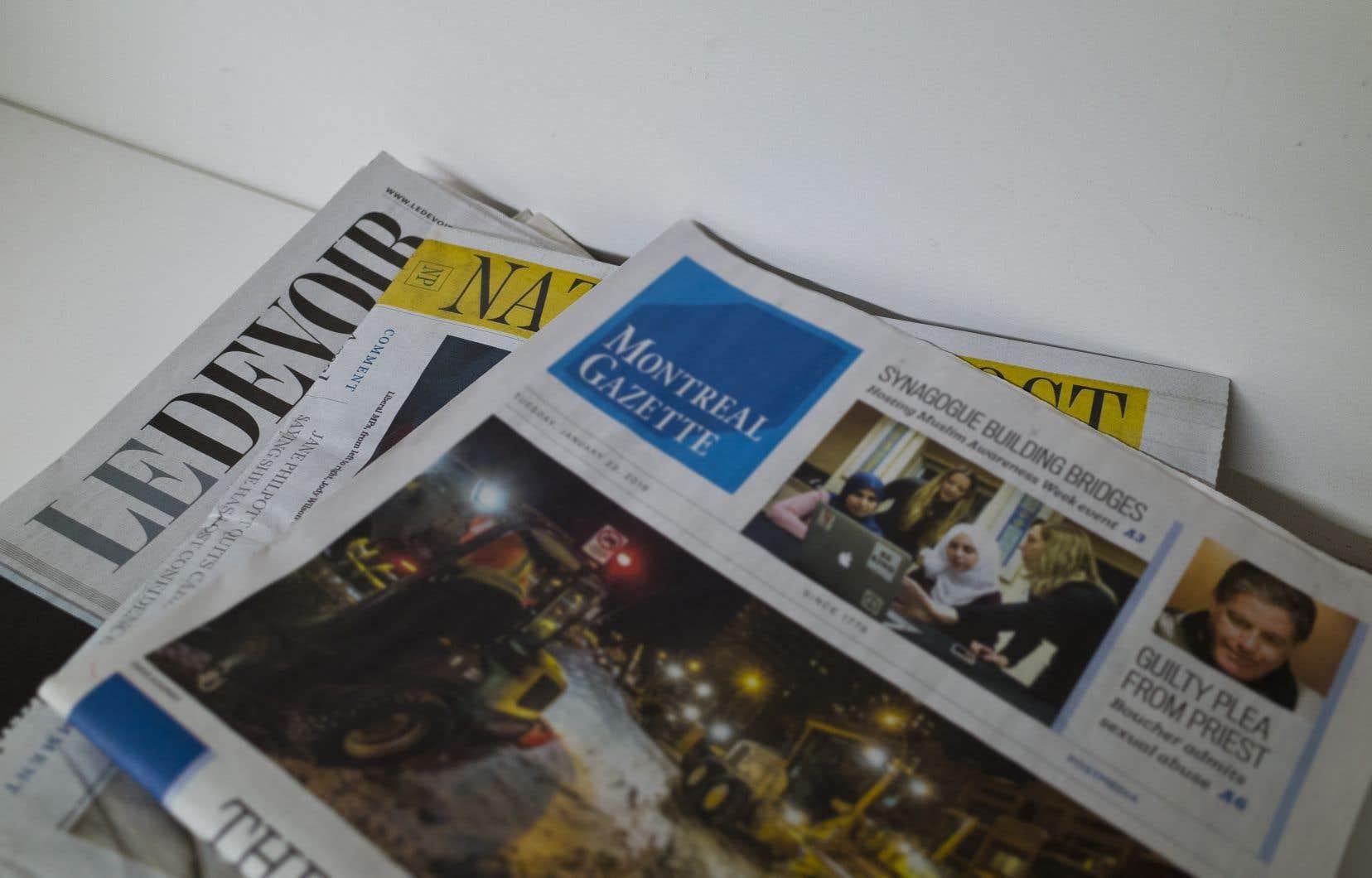 La plus importante des mesures d'aide annoncées par le ministre des Finances Bill Morneau au mois de novembre — le crédit d'impôt sur la masse salariale liée à la production d'information — prévoyait la mise sur pied d'un comité d'experts de l'industrie formé de journalistes et d'entreprises médiatiques.