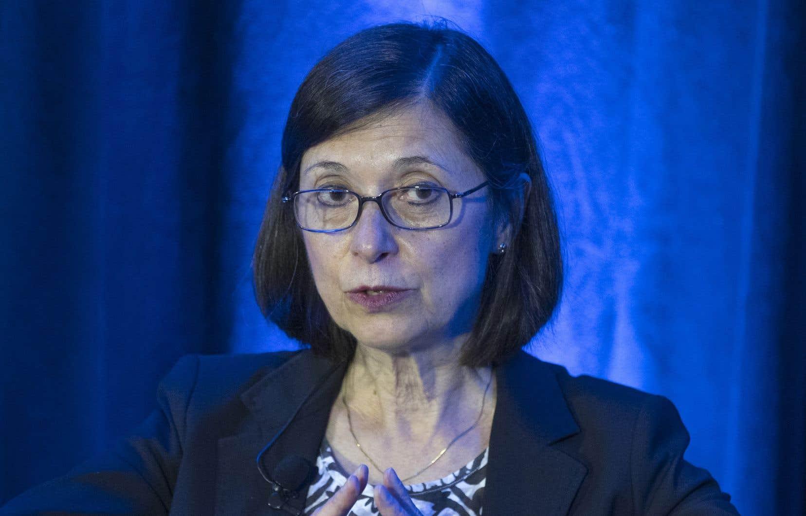 La ministre de la Santé et des Services sociaux, Danielle McCann