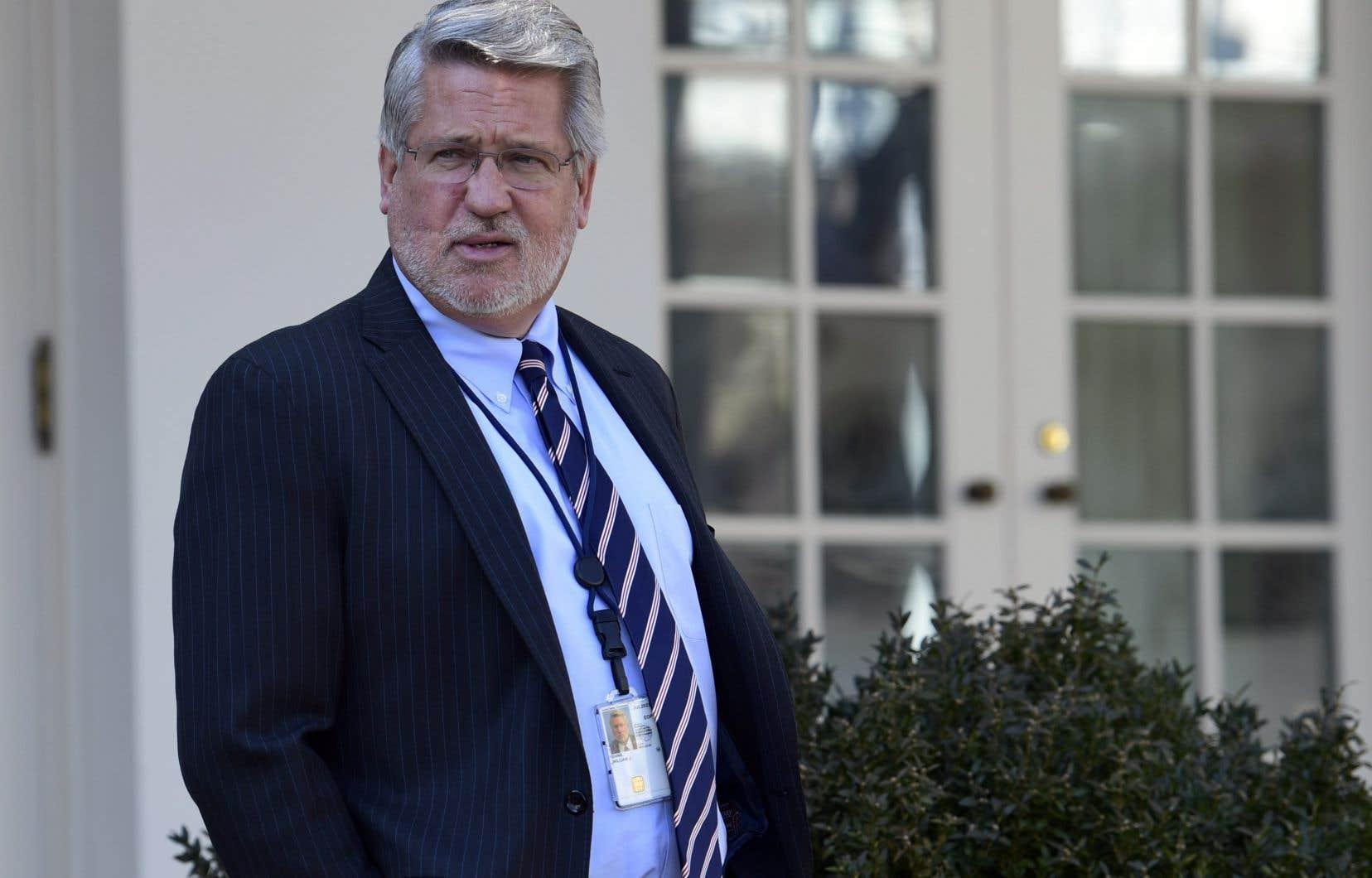 Le directeur des communications de Donald Trump, Bill Shine