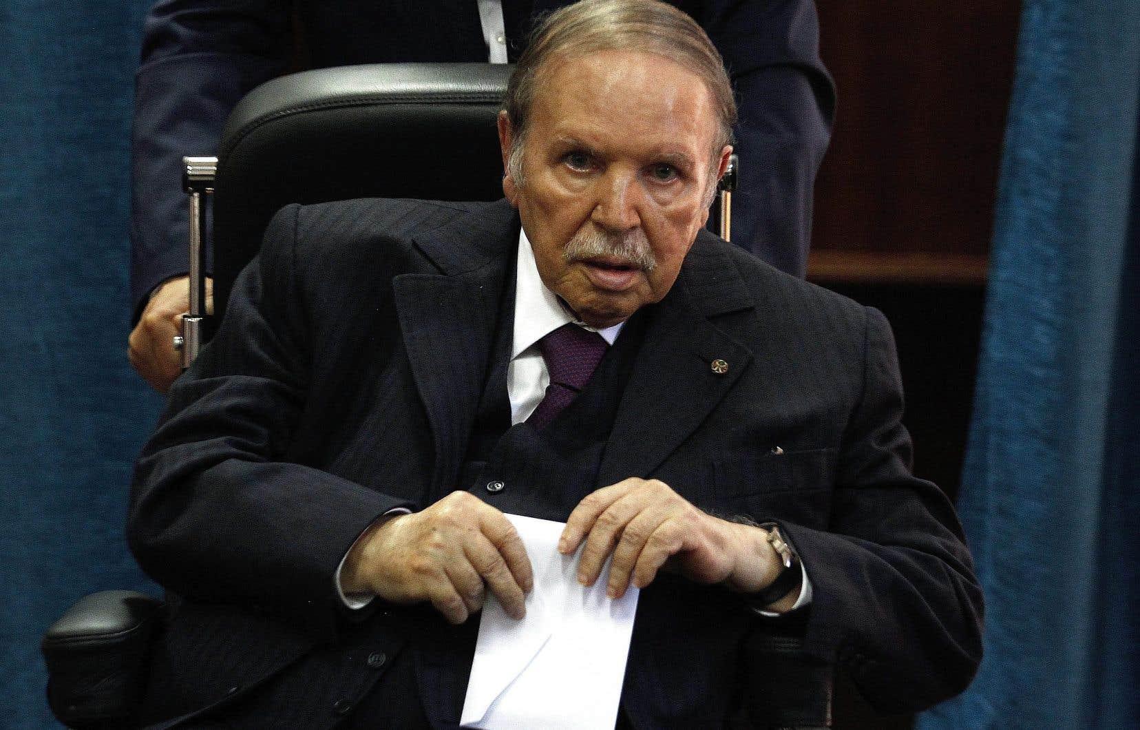 Le président algérien, Abdelaziz Bouteflika