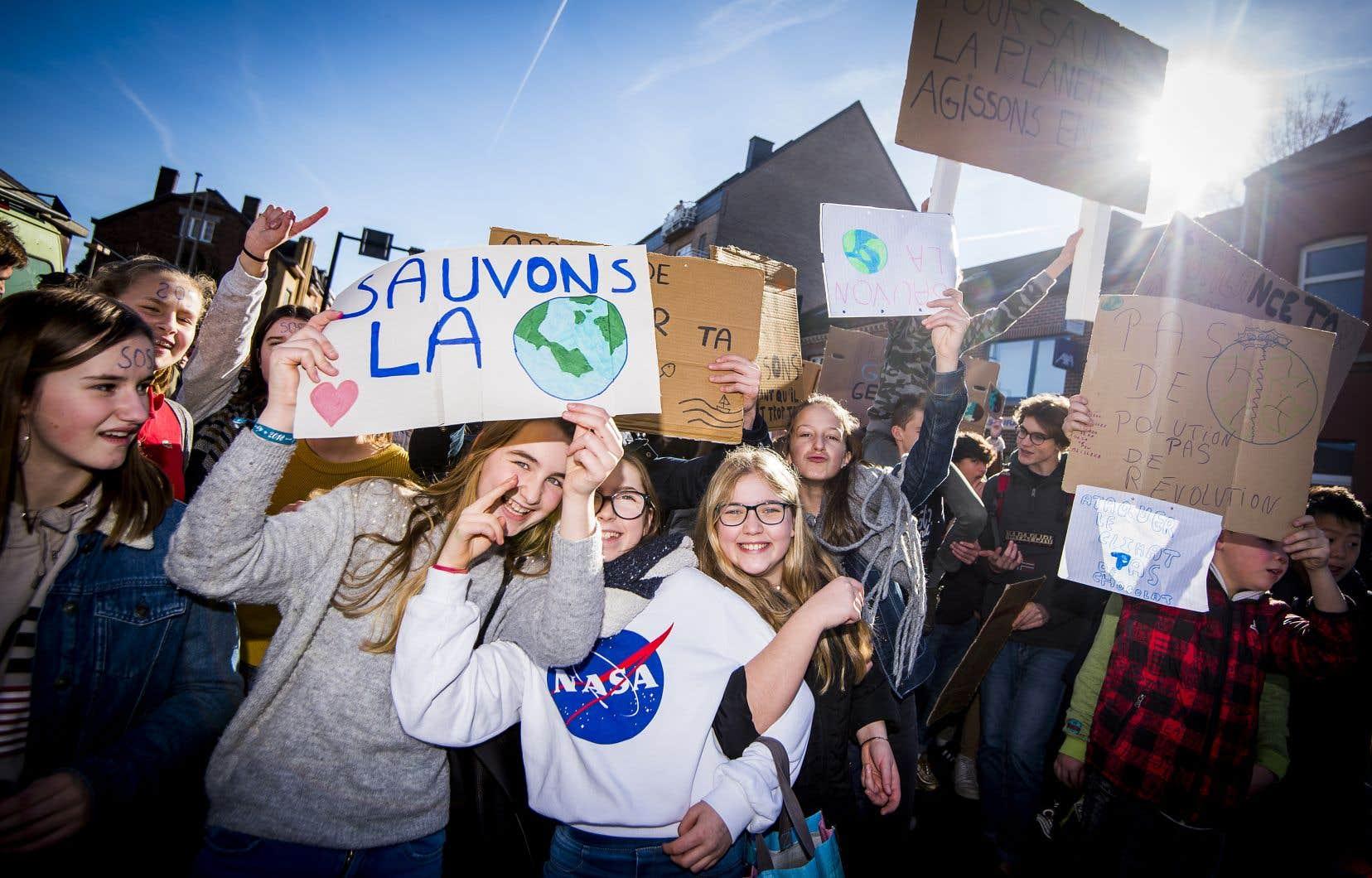 Le mouvement de grève pour le climat qui atteint Montréal s'est propagé en Europe ces derniers mois.