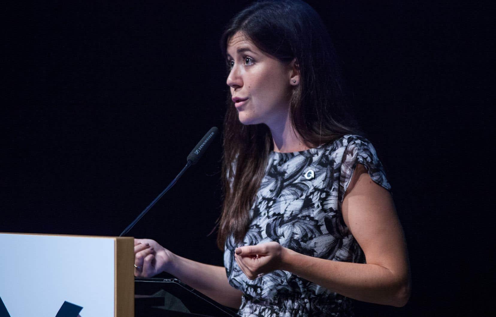 La députée de Marie-Victorin, Catherine Fournier, a convoqué la presse lundi avant-midi afin de «faire le point sur son avenir politique».