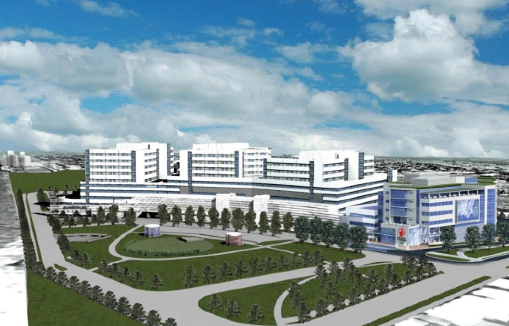 Le futur hôpital des Shriners aura à sa disposition quatre salles d'opération et des locaux de recherche deux fois plus grands.<br />