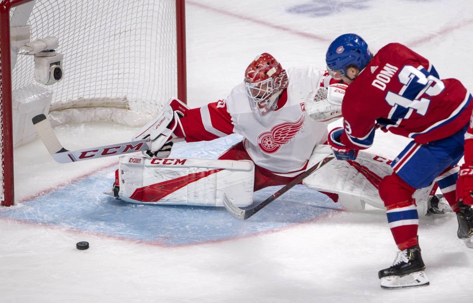 Le Canadien de Montréal a notamment gagné grâce à la performance de Max Domi, auteur de deux buts.