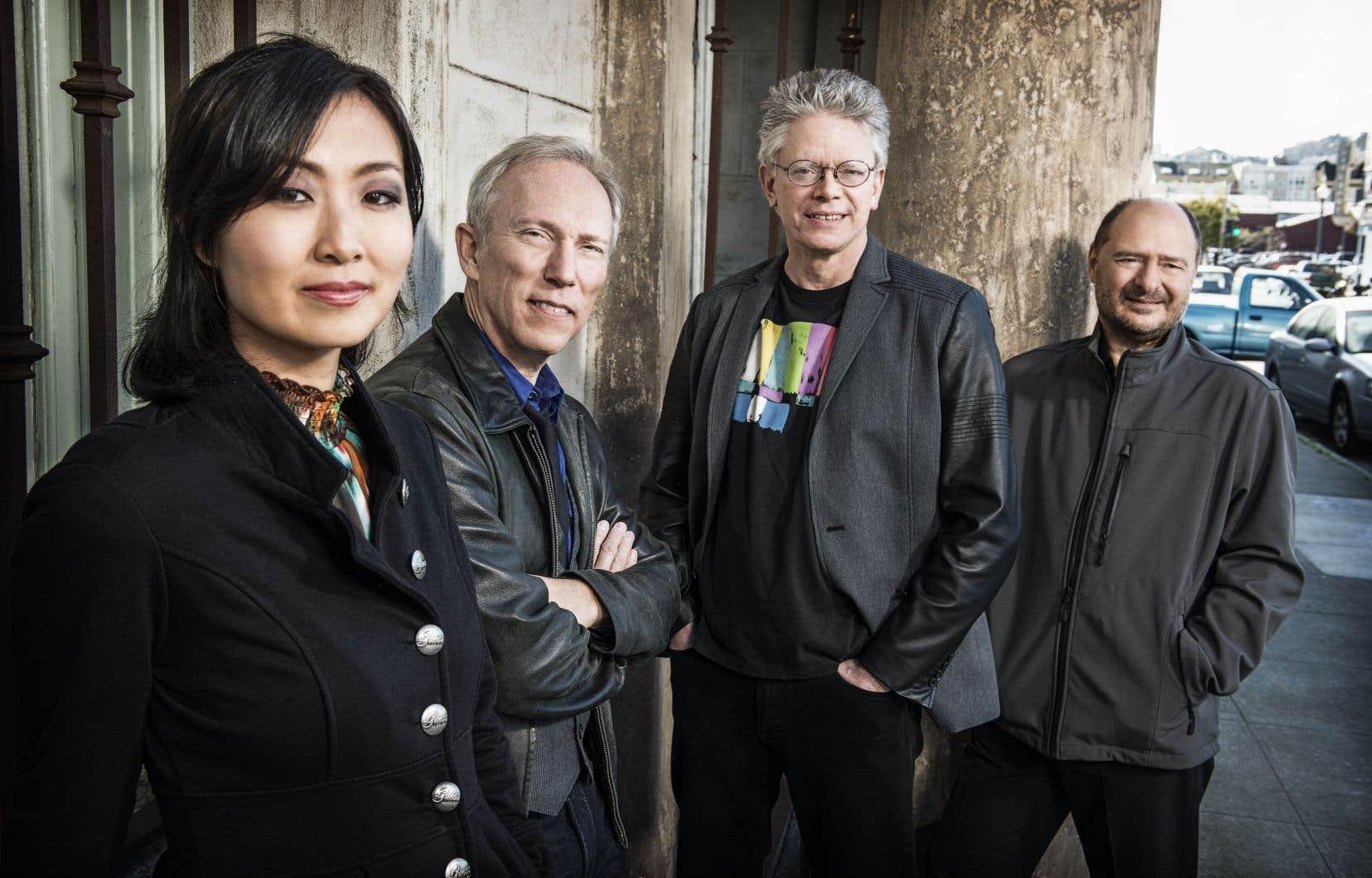 Il y a quelques semaines, le Kronos Quartet remportait un nouveau Grammy pour sa collaboration avec Laurie Anderson («Landfall», paru chez Nonesuch). Il a lancé depuis deux nouveaux albums, dont le sublime «Placeless».