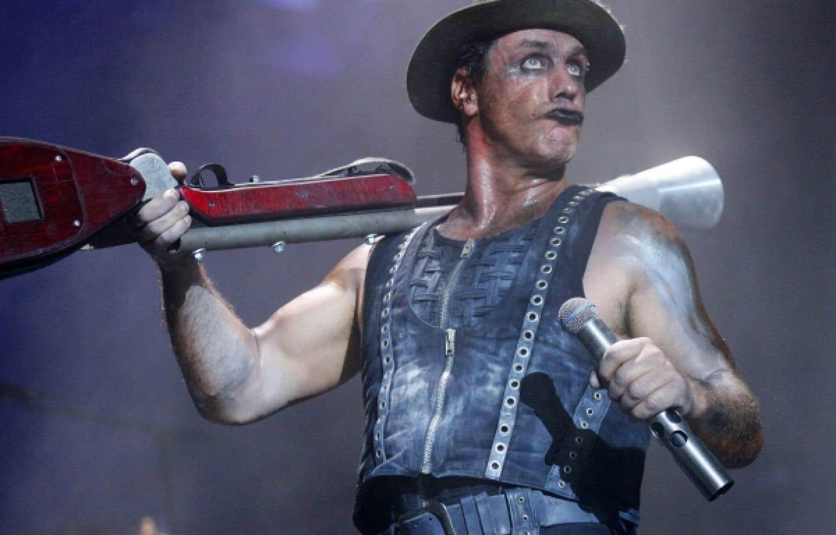 Rammstein en spectacle à Québec